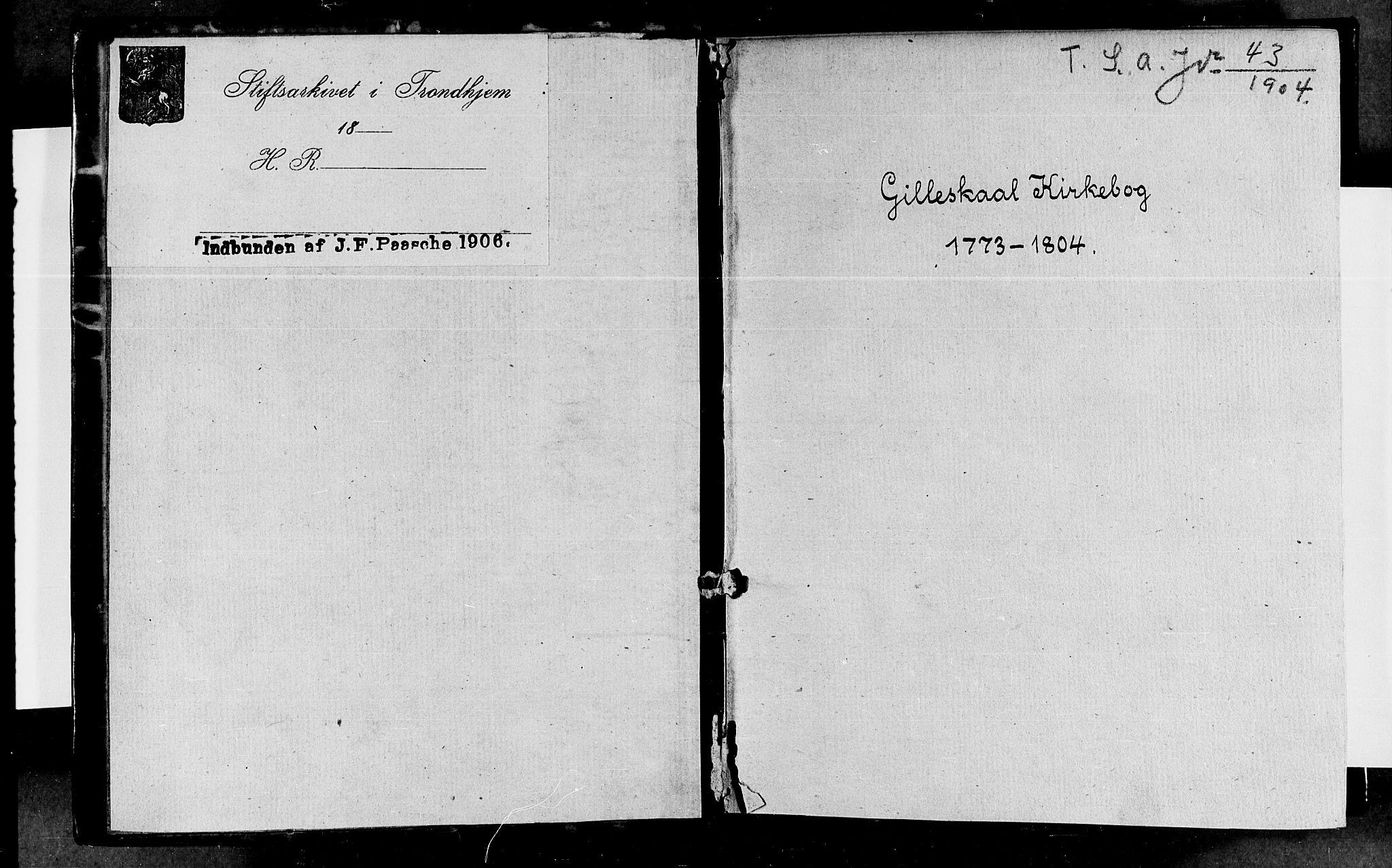 SAT, Ministerialprotokoller, klokkerbøker og fødselsregistre - Nordland, 805/L0094: Ministerialbok nr. 805A01, 1773-1804