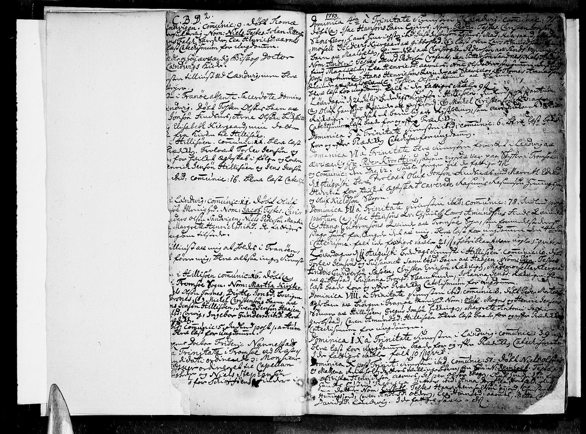 SATØ, Lenvik sokneprestembete, H/Ha: Ministerialbok nr. 1, 1753-1783, s. 2-3