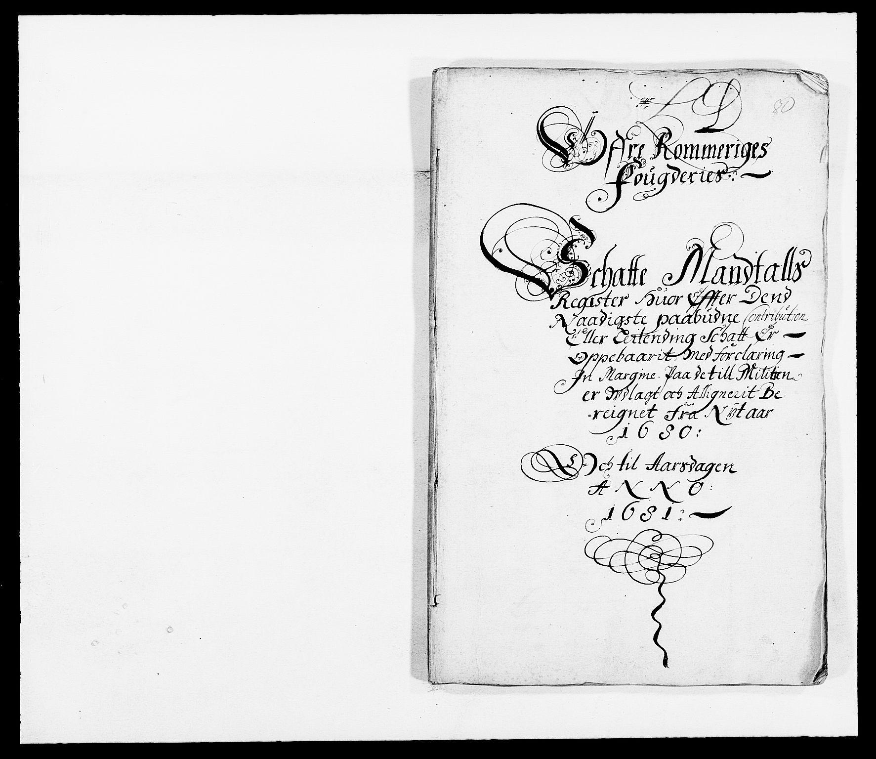 RA, Rentekammeret inntil 1814, Reviderte regnskaper, Fogderegnskap, R12/L0695: Fogderegnskap Øvre Romerike, 1680, s. 135