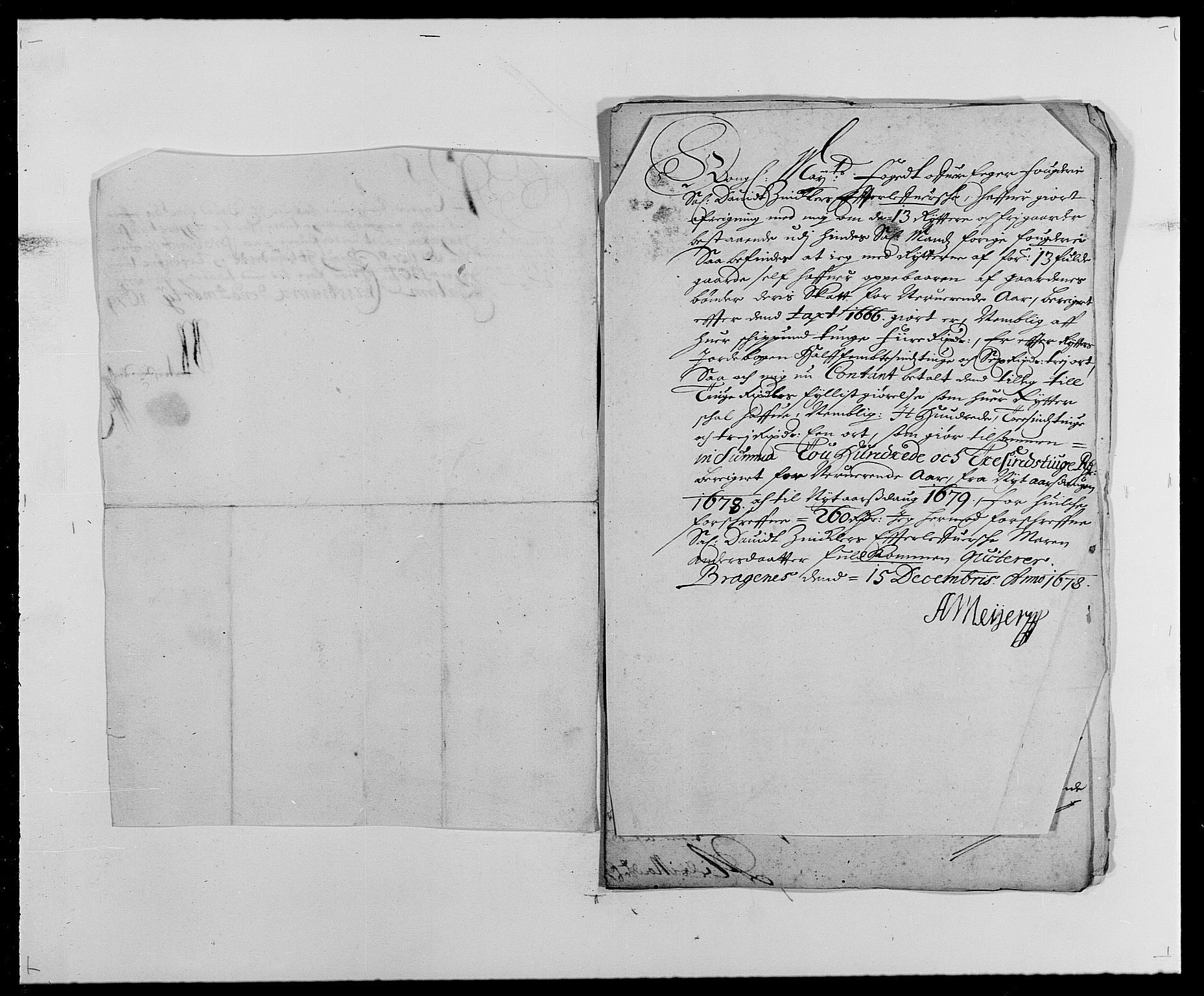 RA, Rentekammeret inntil 1814, Reviderte regnskaper, Fogderegnskap, R26/L1683: Fogderegnskap Eiker, 1678, s. 82