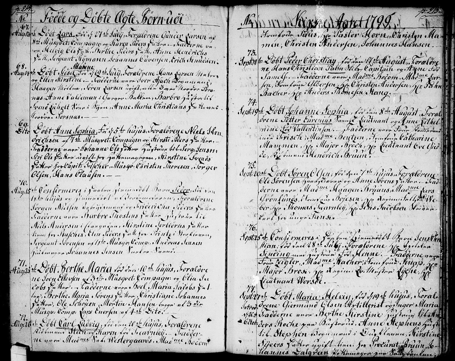 SAO, Halden prestekontor Kirkebøker, F/Fa/L0002: Ministerialbok nr. I 2, 1792-1812, s. 214-215