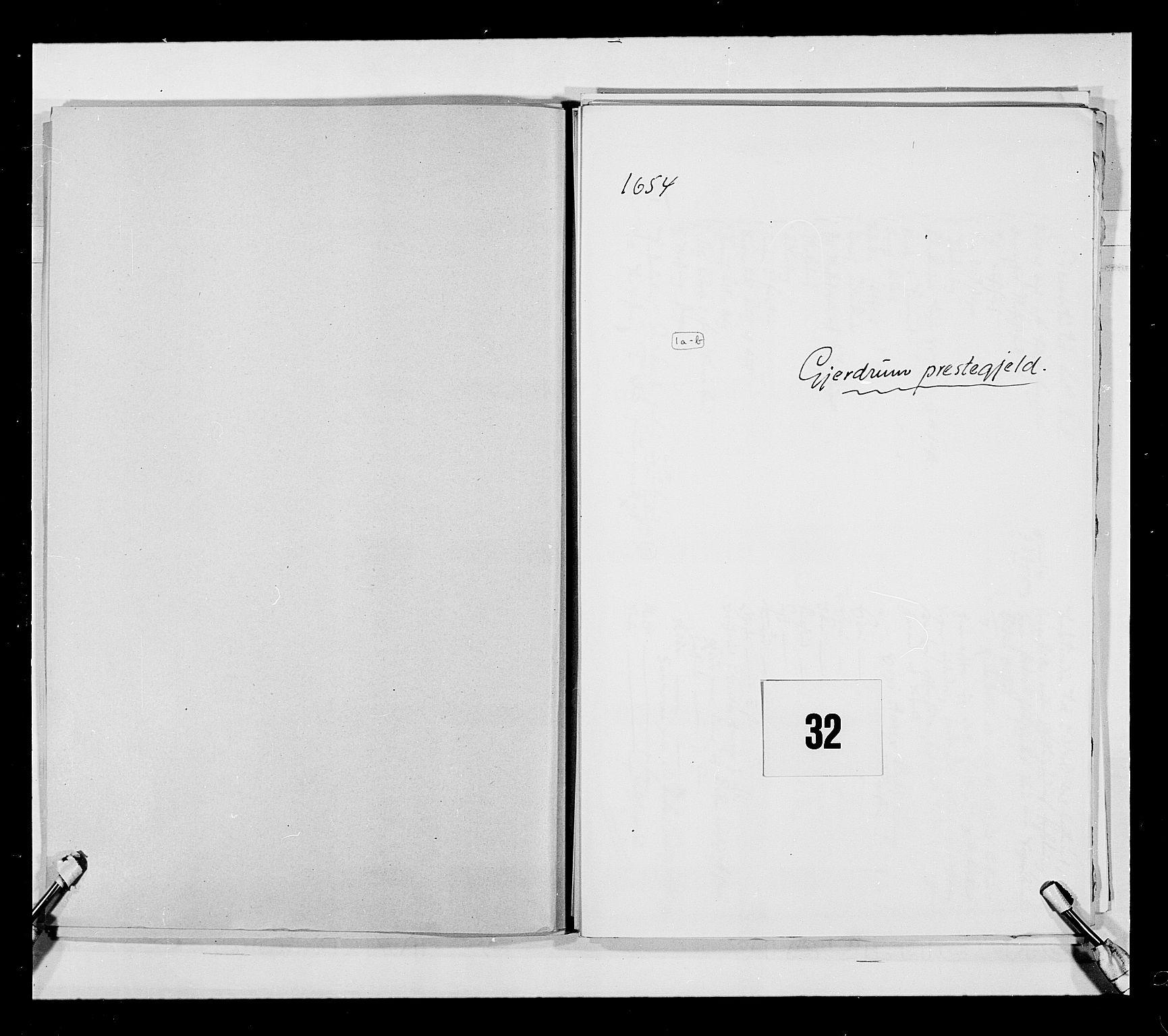RA, Stattholderembetet 1572-1771, Ek/L0030: Jordebøker 1633-1658:, 1654, s. 134