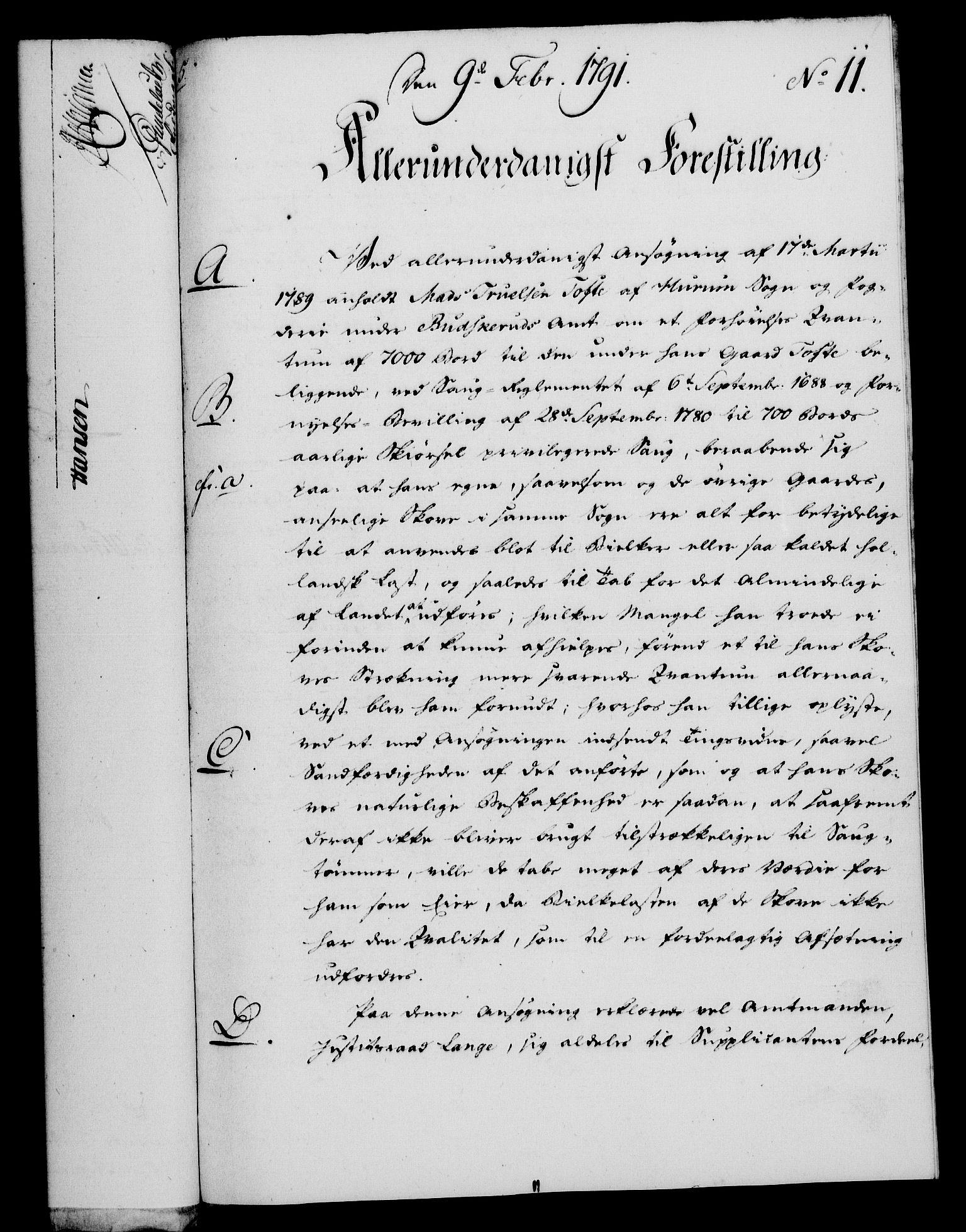 RA, Rentekammeret, Kammerkanselliet, G/Gf/Gfa/L0073: Norsk relasjons- og resolusjonsprotokoll (merket RK 52.73), 1791, s. 76