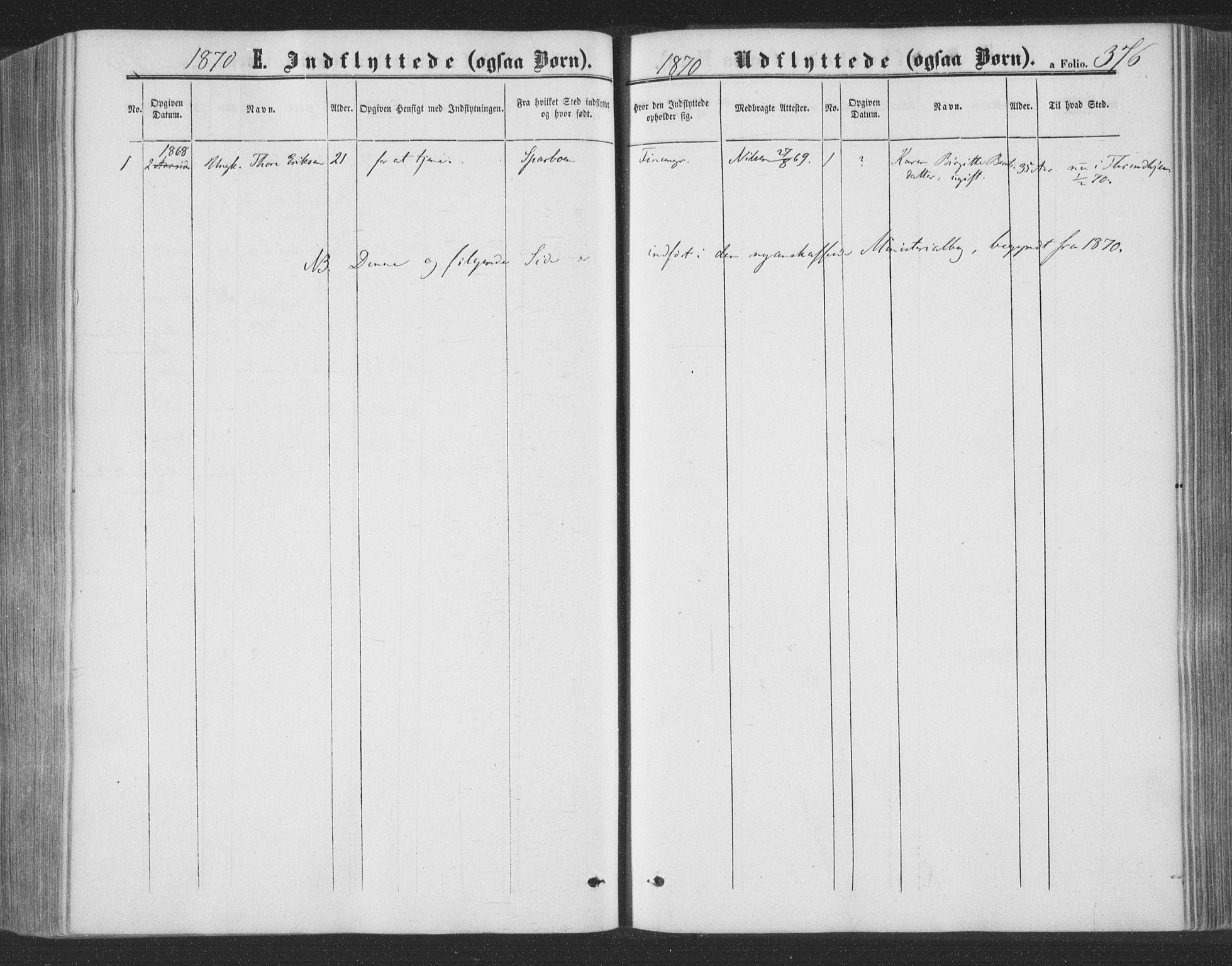 SAT, Ministerialprotokoller, klokkerbøker og fødselsregistre - Nord-Trøndelag, 773/L0615: Ministerialbok nr. 773A06, 1857-1870, s. 376