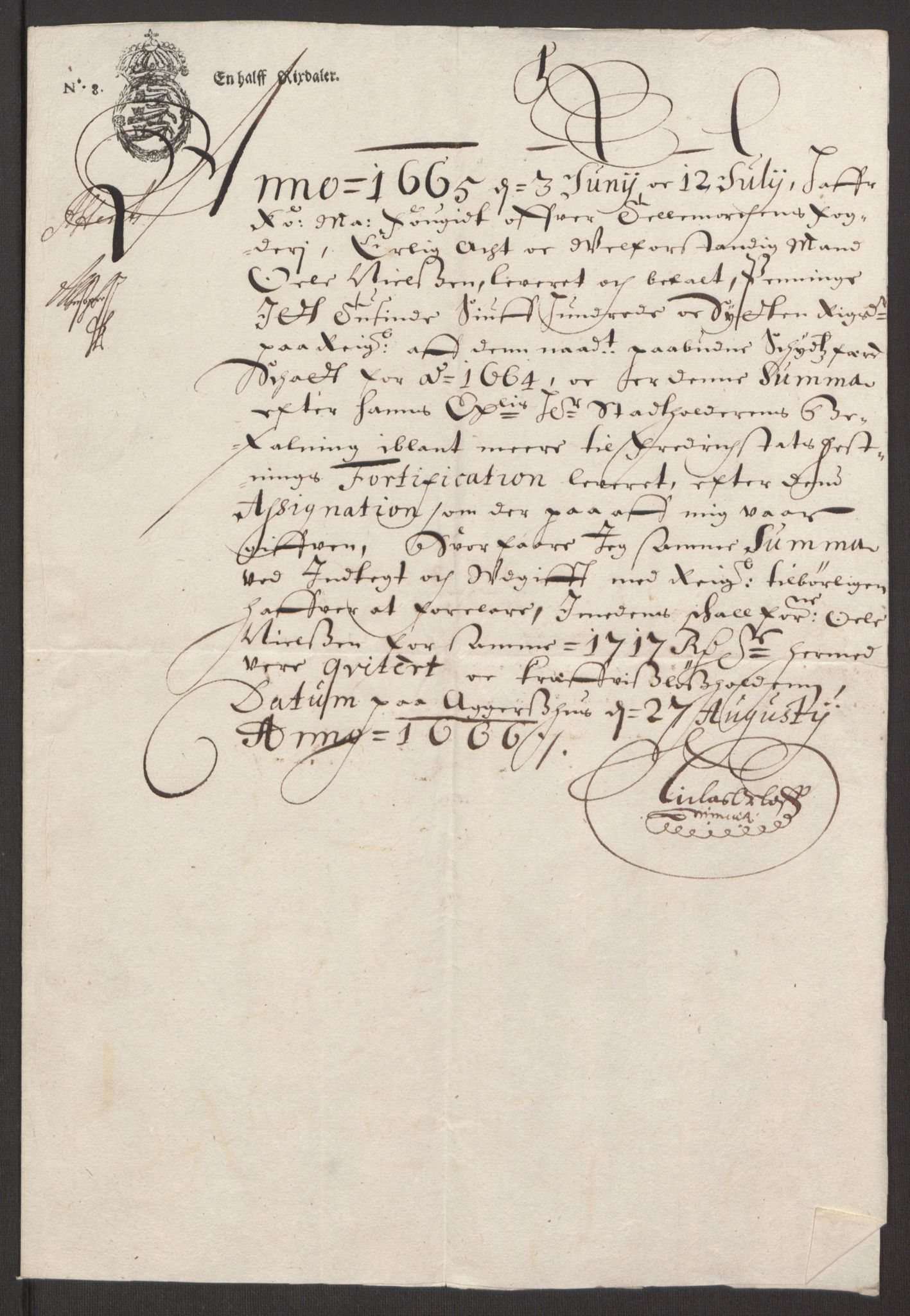 RA, Rentekammeret inntil 1814, Reviderte regnskaper, Fogderegnskap, R35/L2055: Fogderegnskap Øvre og Nedre Telemark, 1664, s. 408