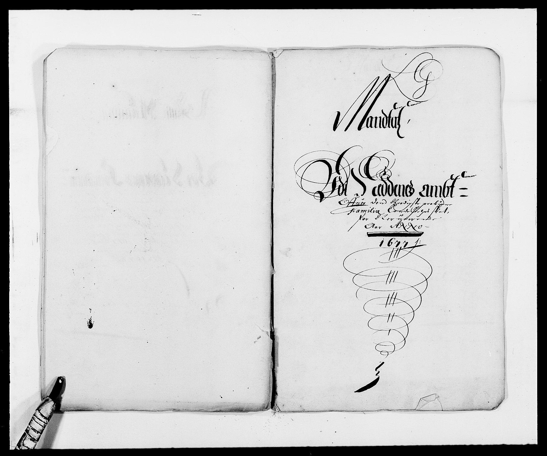 RA, Rentekammeret inntil 1814, Reviderte regnskaper, Fogderegnskap, R39/L2302: Fogderegnskap Nedenes, 1677-1678, s. 149