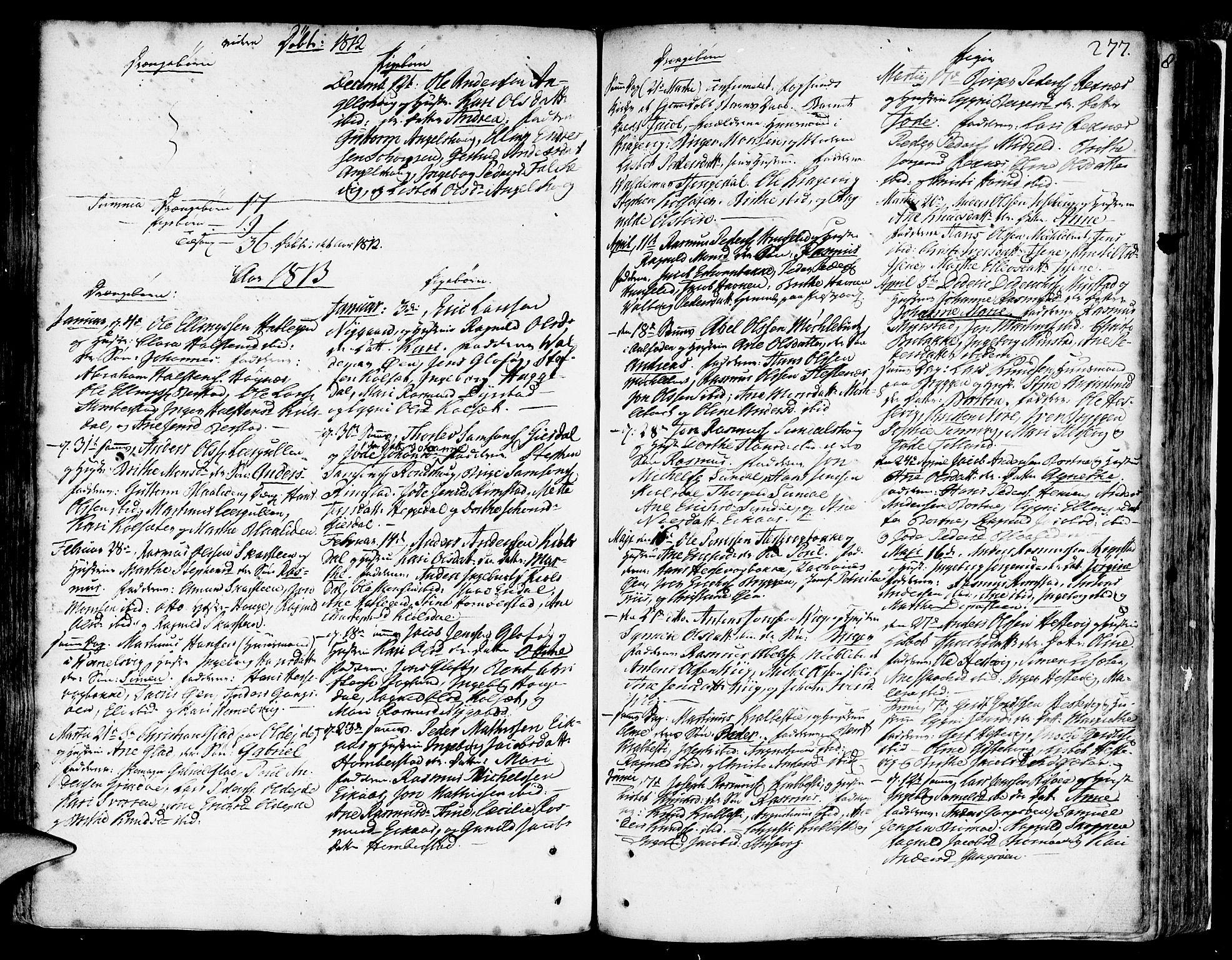 SAB, Davik Sokneprestembete, Ministerialbok nr. A 2, 1742-1816, s. 277