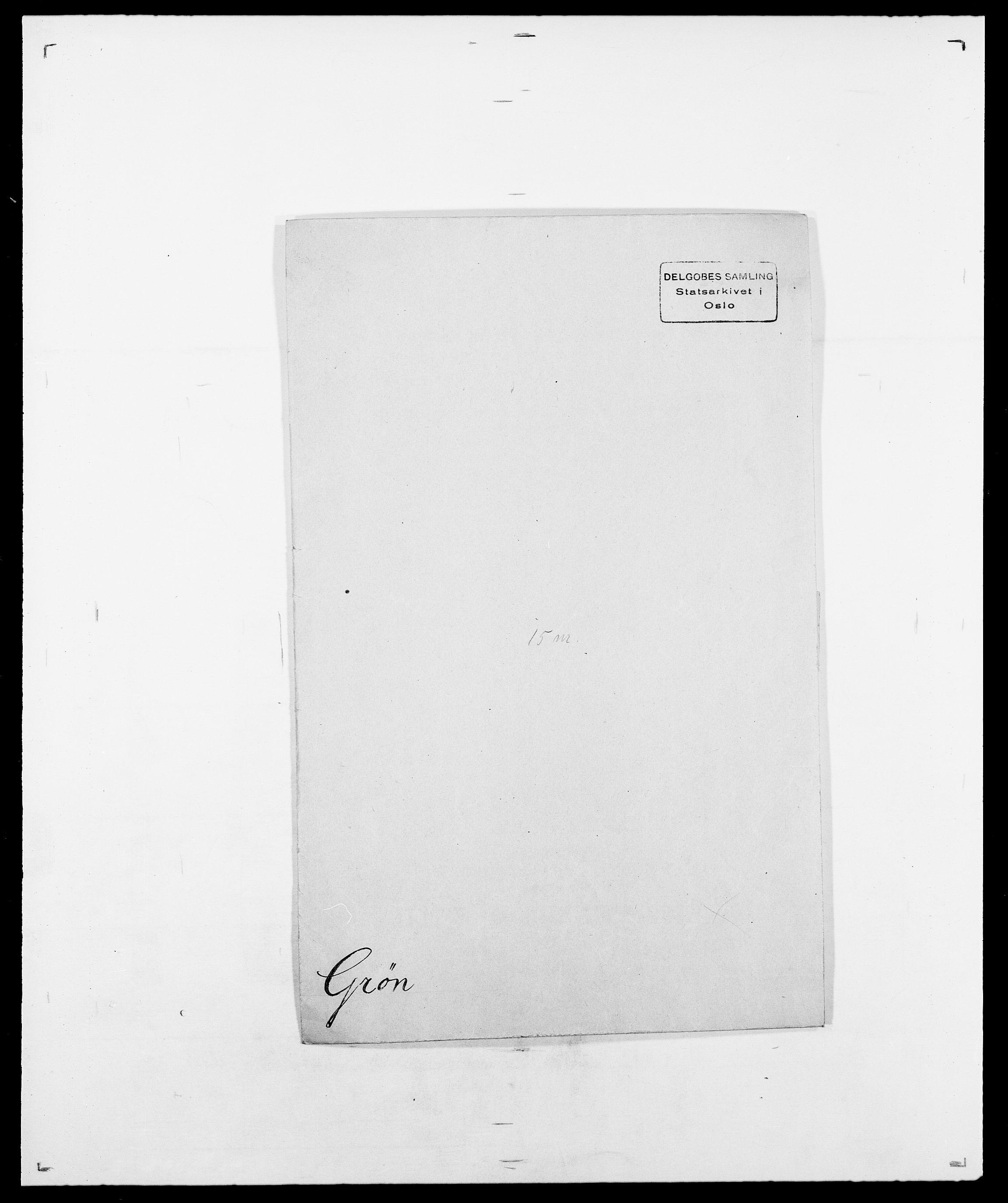 SAO, Delgobe, Charles Antoine - samling, D/Da/L0015: Grodtshilling - Halvorsæth, s. 166