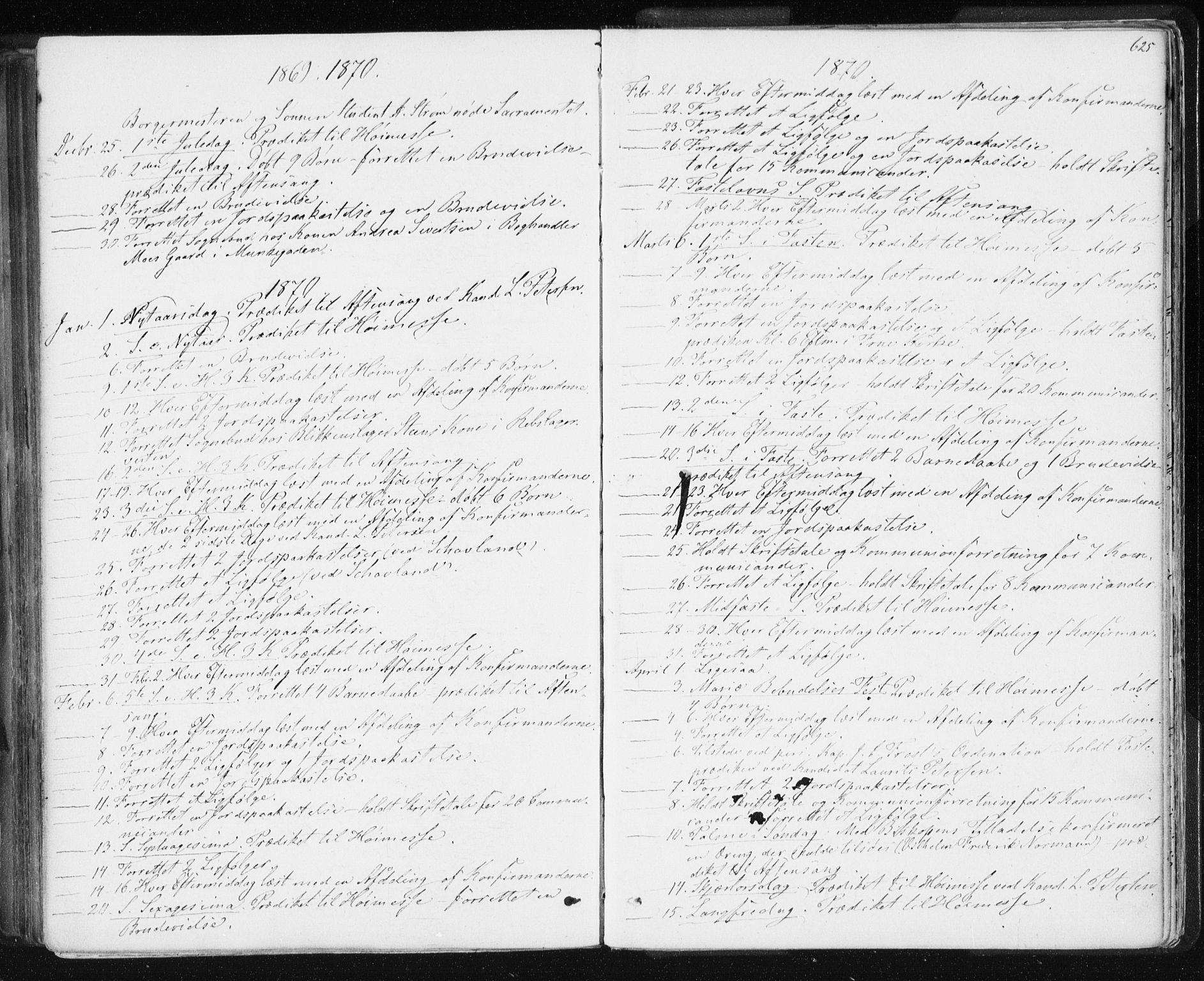 SAT, Ministerialprotokoller, klokkerbøker og fødselsregistre - Sør-Trøndelag, 601/L0055: Ministerialbok nr. 601A23, 1866-1877, s. 625