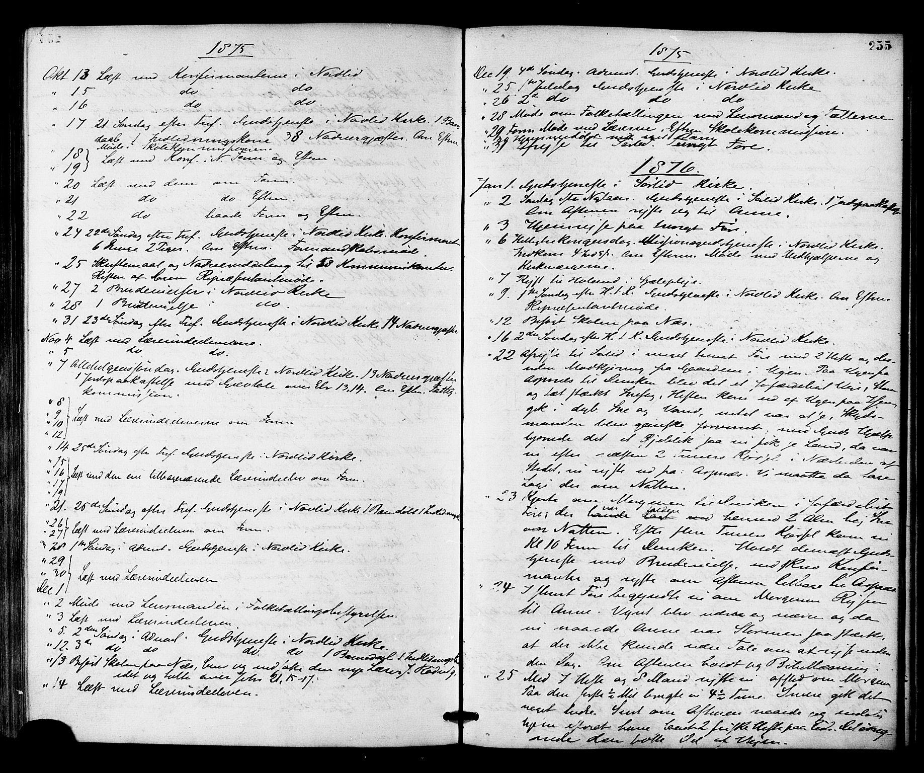 SAT, Ministerialprotokoller, klokkerbøker og fødselsregistre - Nord-Trøndelag, 755/L0493: Ministerialbok nr. 755A02, 1865-1881, s. 255