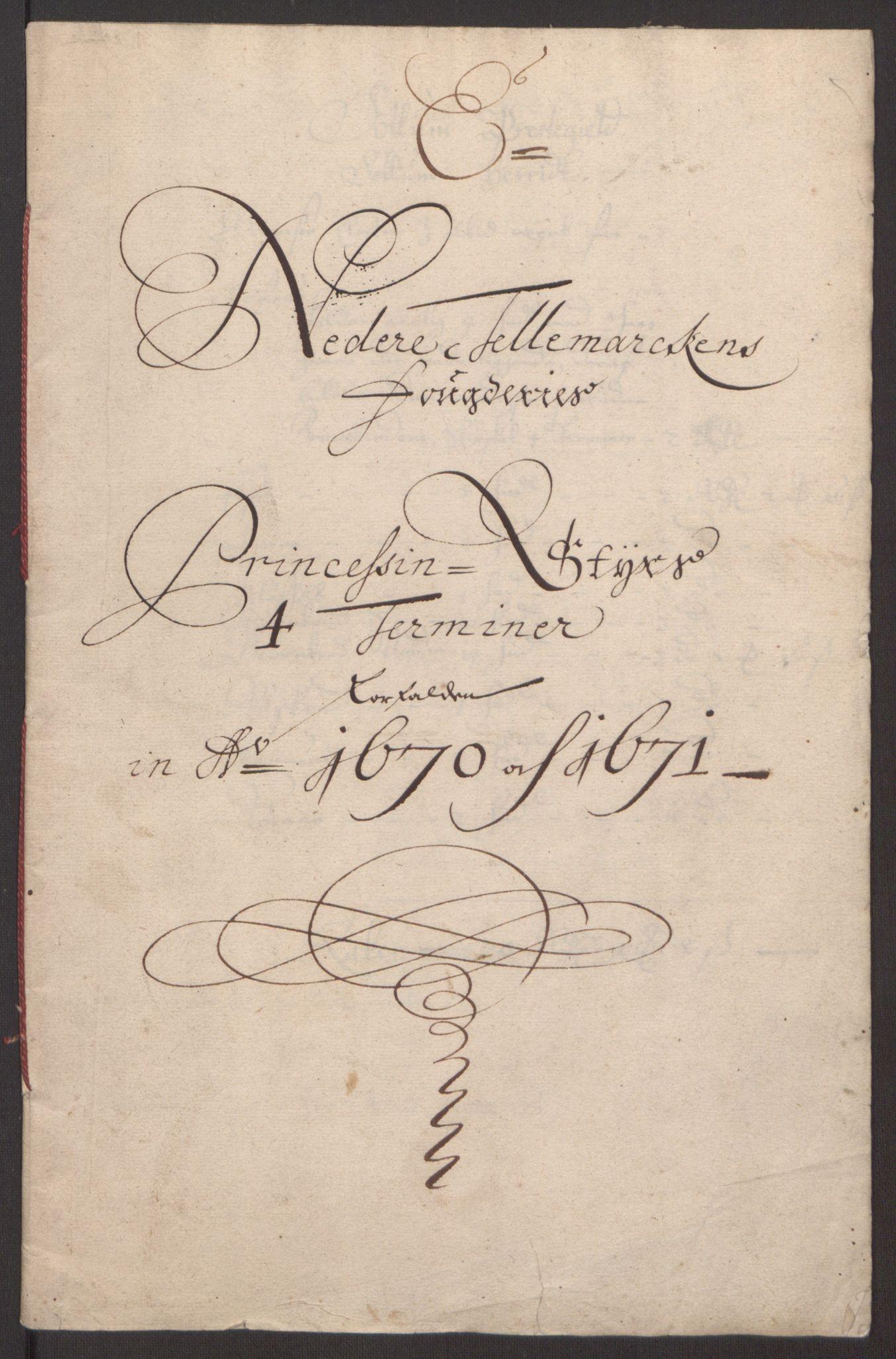 RA, Rentekammeret inntil 1814, Reviderte regnskaper, Fogderegnskap, R35/L2060: Fogderegnskap Øvre og Nedre Telemark, 1671-1672, s. 200