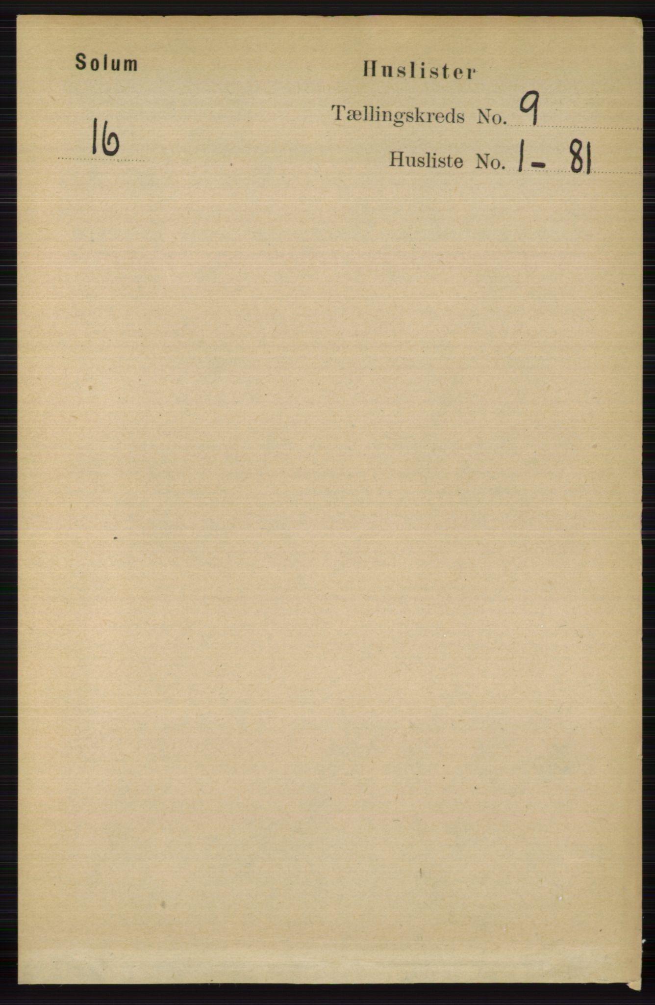 RA, Folketelling 1891 for 0818 Solum herred, 1891, s. 1857
