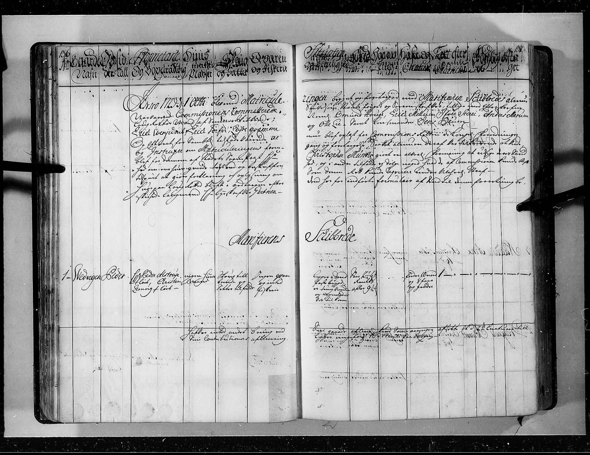 RA, Rentekammeret inntil 1814, Realistisk ordnet avdeling, N/Nb/Nbf/L0143: Ytre og Indre Sogn eksaminasjonsprotokoll, 1723, s. 136-137