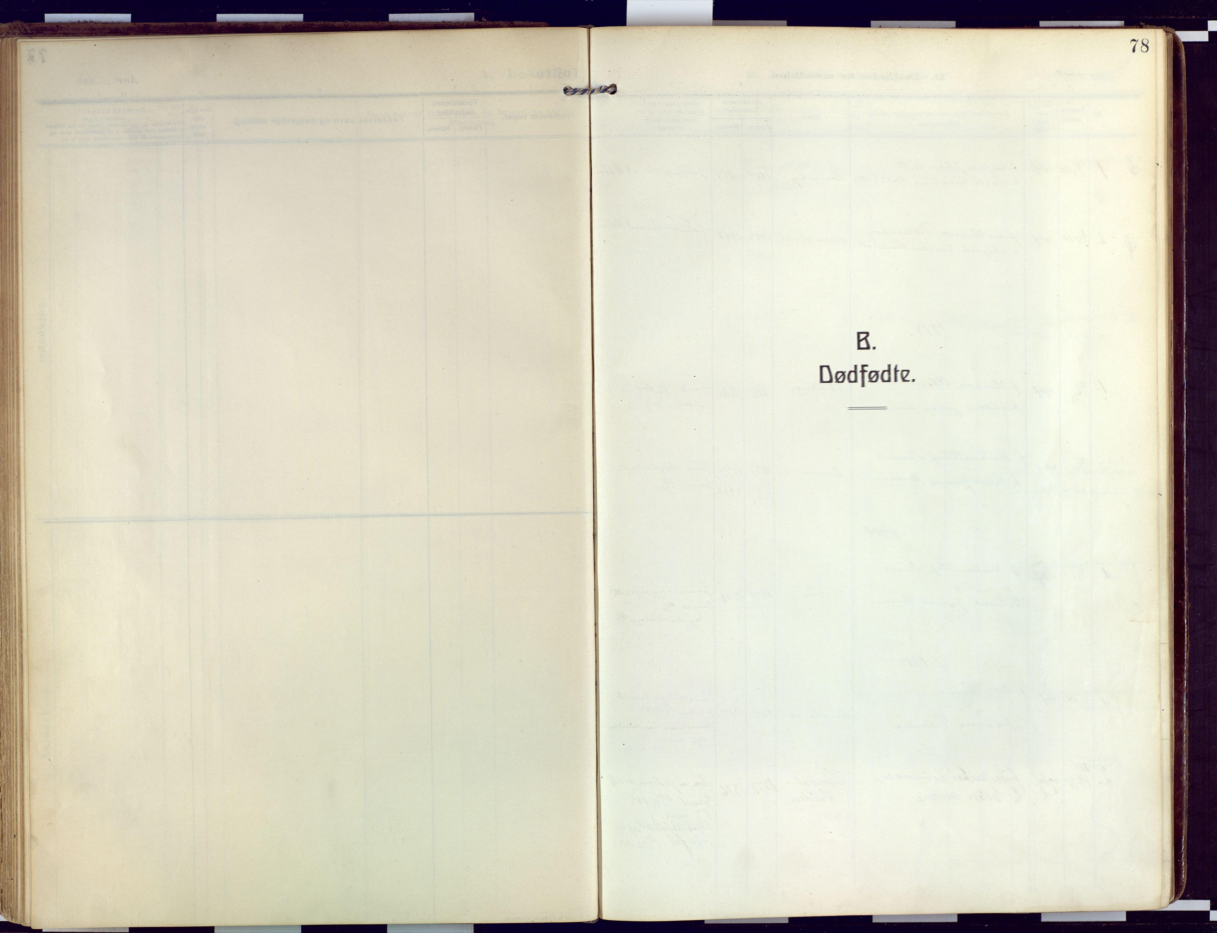 SATØ, Loppa sokneprestkontor, H/Ha/L0011kirke: Ministerialbok nr. 11, 1909-1919, s. 78