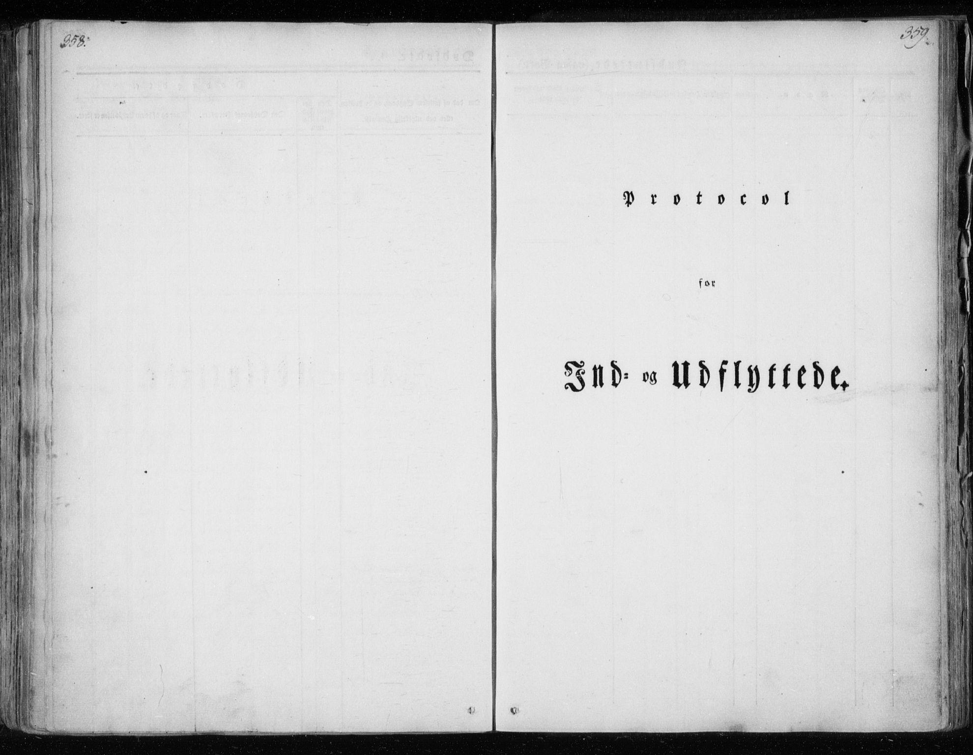 SAT, Ministerialprotokoller, klokkerbøker og fødselsregistre - Nordland, 825/L0354: Ministerialbok nr. 825A08, 1826-1841, s. 358-359