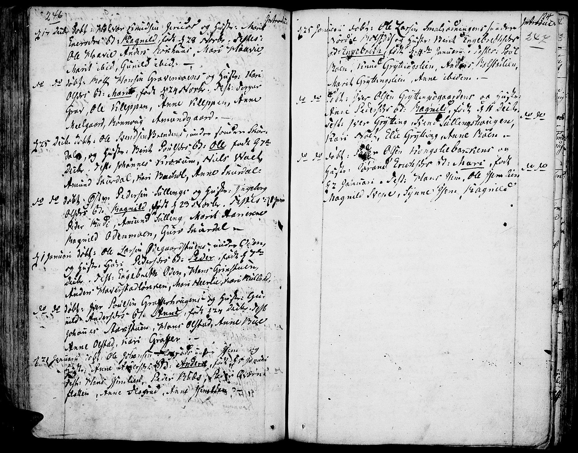 SAH, Fron prestekontor, H/Ha/Haa/L0001: Ministerialbok nr. 1, 1799-1816, s. 246-247