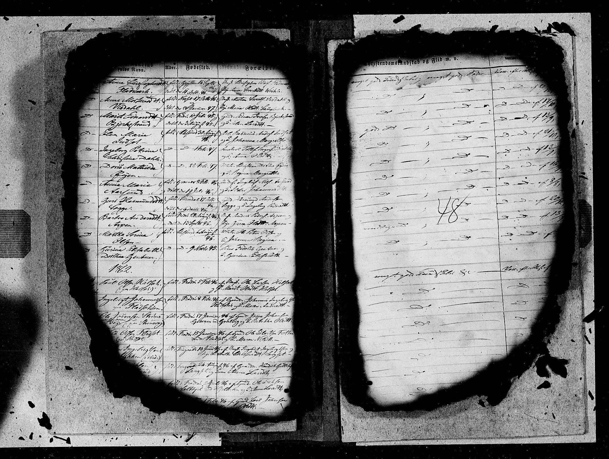 SAT, Ministerialprotokoller, klokkerbøker og fødselsregistre - Møre og Romsdal, 572/L0846: Ministerialbok nr. 572A09, 1855-1865, s. 48