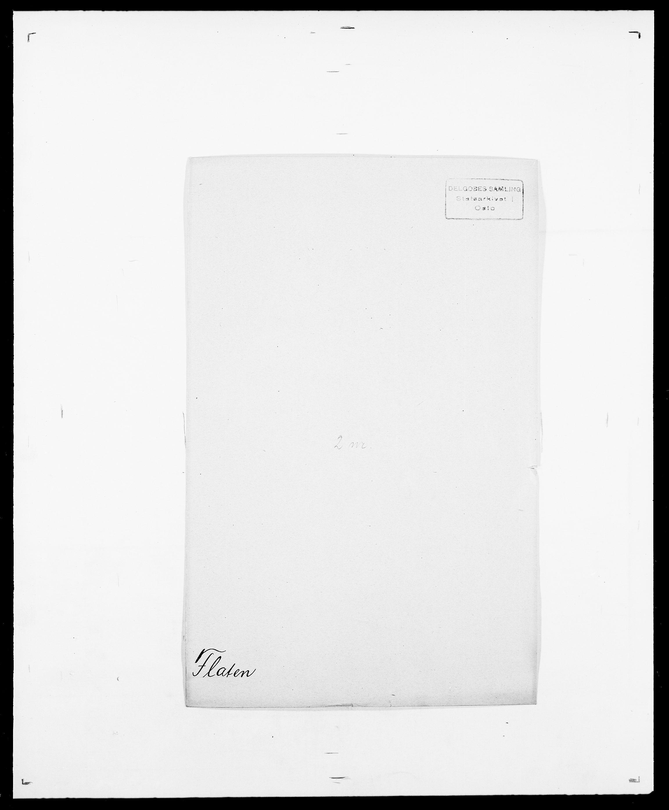 SAO, Delgobe, Charles Antoine - samling, D/Da/L0011: Fahlander - Flood, Flod, s. 580