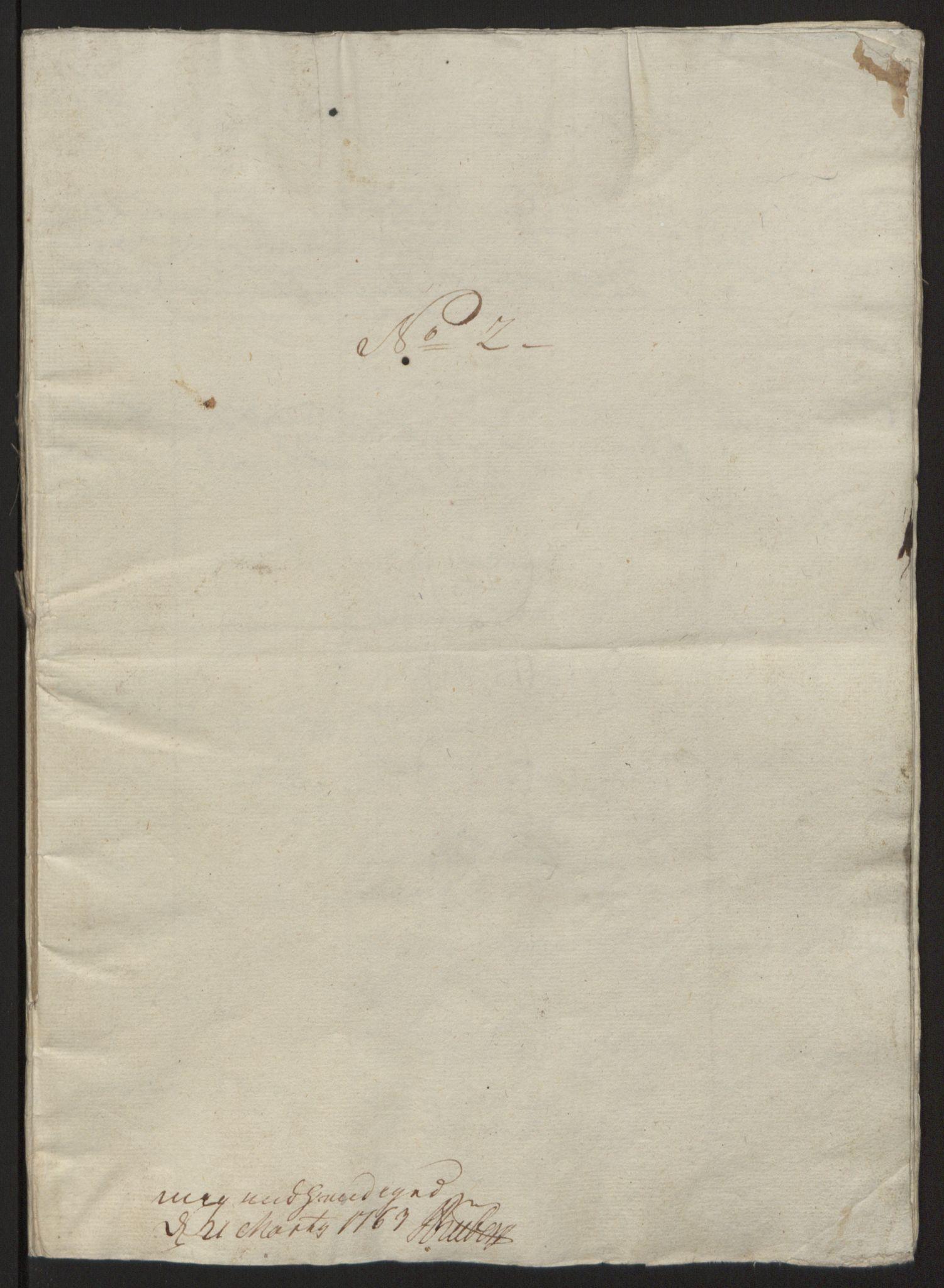 RA, Rentekammeret inntil 1814, Reviderte regnskaper, Fogderegnskap, R57/L3930: Ekstraskatten Fosen, 1762-1763, s. 343