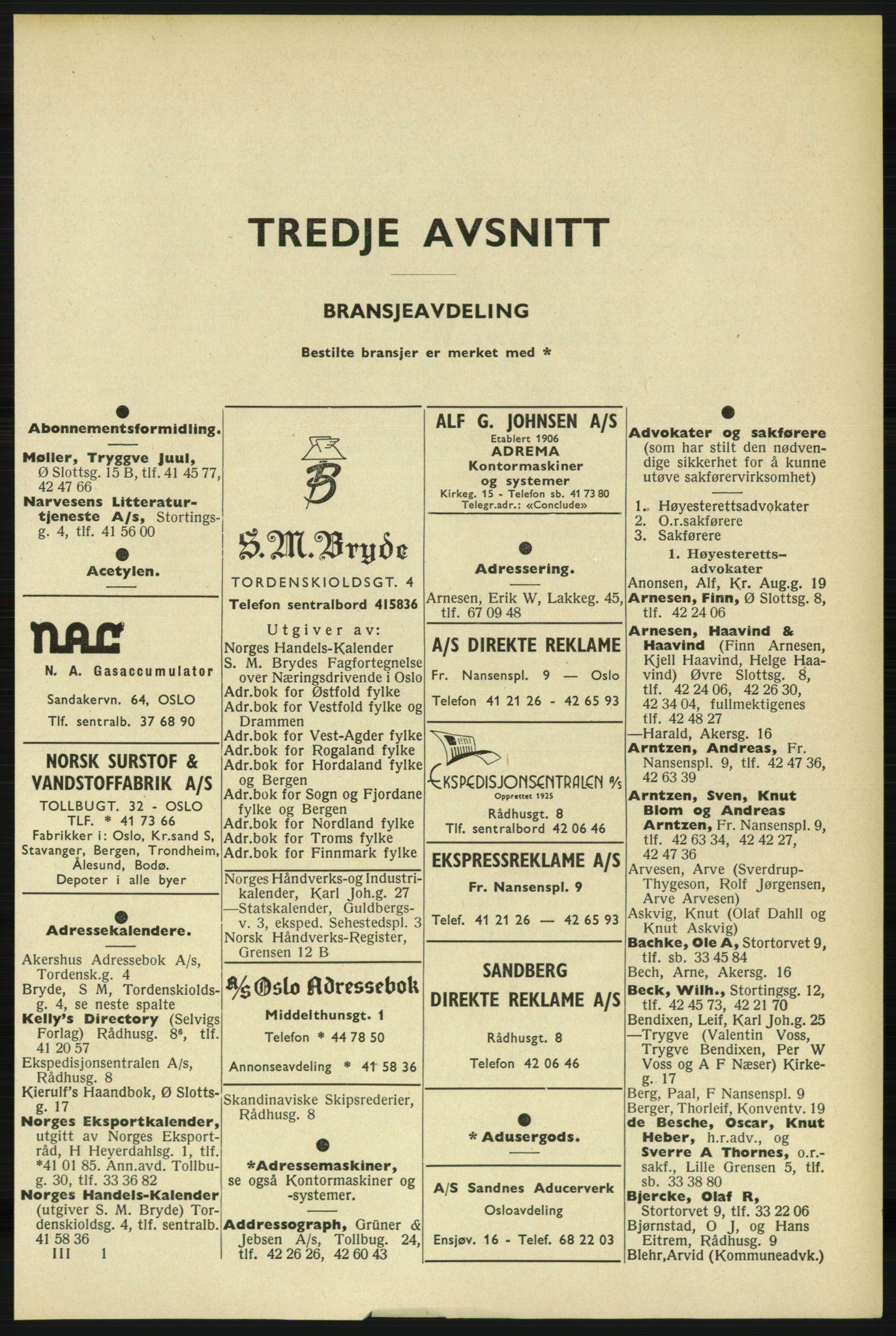 PUBL, Kristiania/Oslo adressebok, 1961-1962, s. 1801