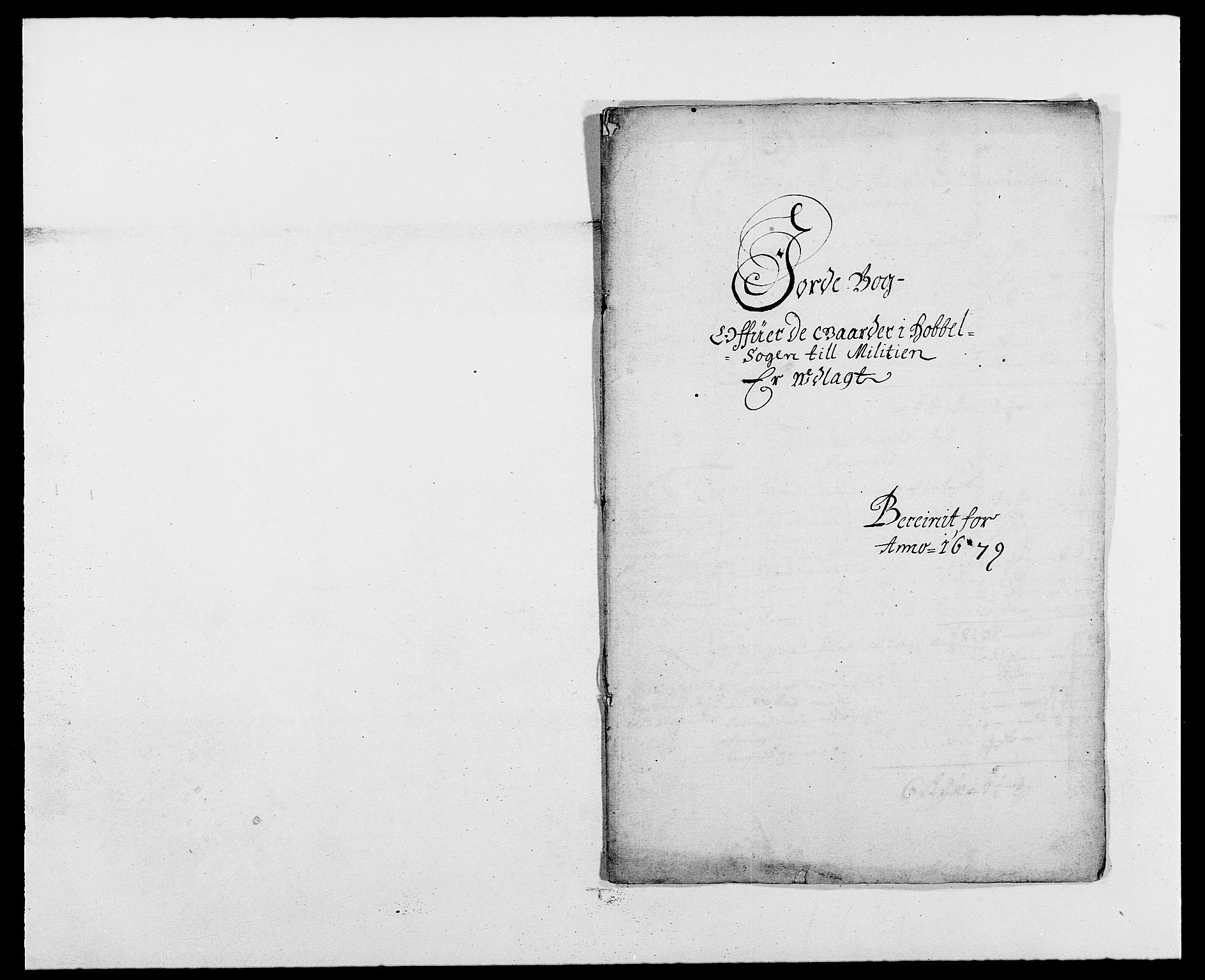 RA, Rentekammeret inntil 1814, Reviderte regnskaper, Fogderegnskap, R02/L0100: Fogderegnskap Moss og Verne kloster, 1679, s. 307