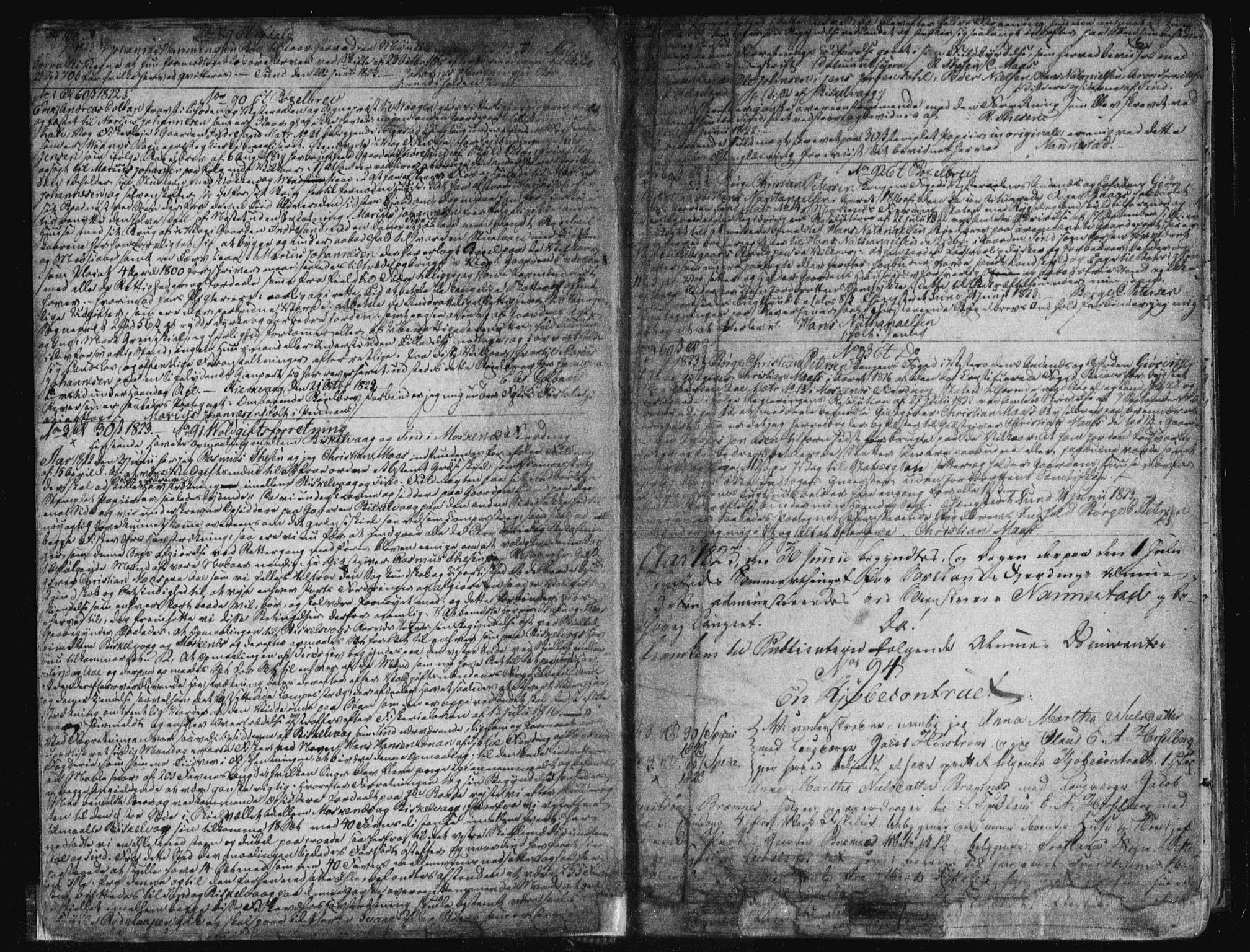 SAT, Vesterålen sorenskriveri, 2/2Ca/L0007: Pantebok nr. G, 1823-1836, s. 6