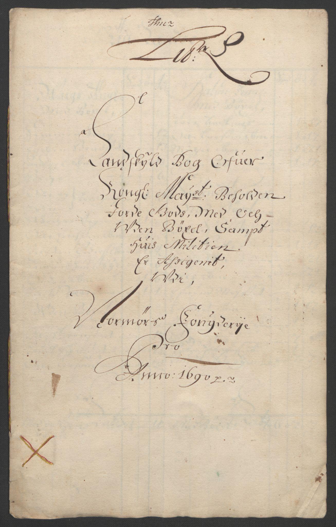 RA, Rentekammeret inntil 1814, Reviderte regnskaper, Fogderegnskap, R56/L3734: Fogderegnskap Nordmøre, 1690-1691, s. 170