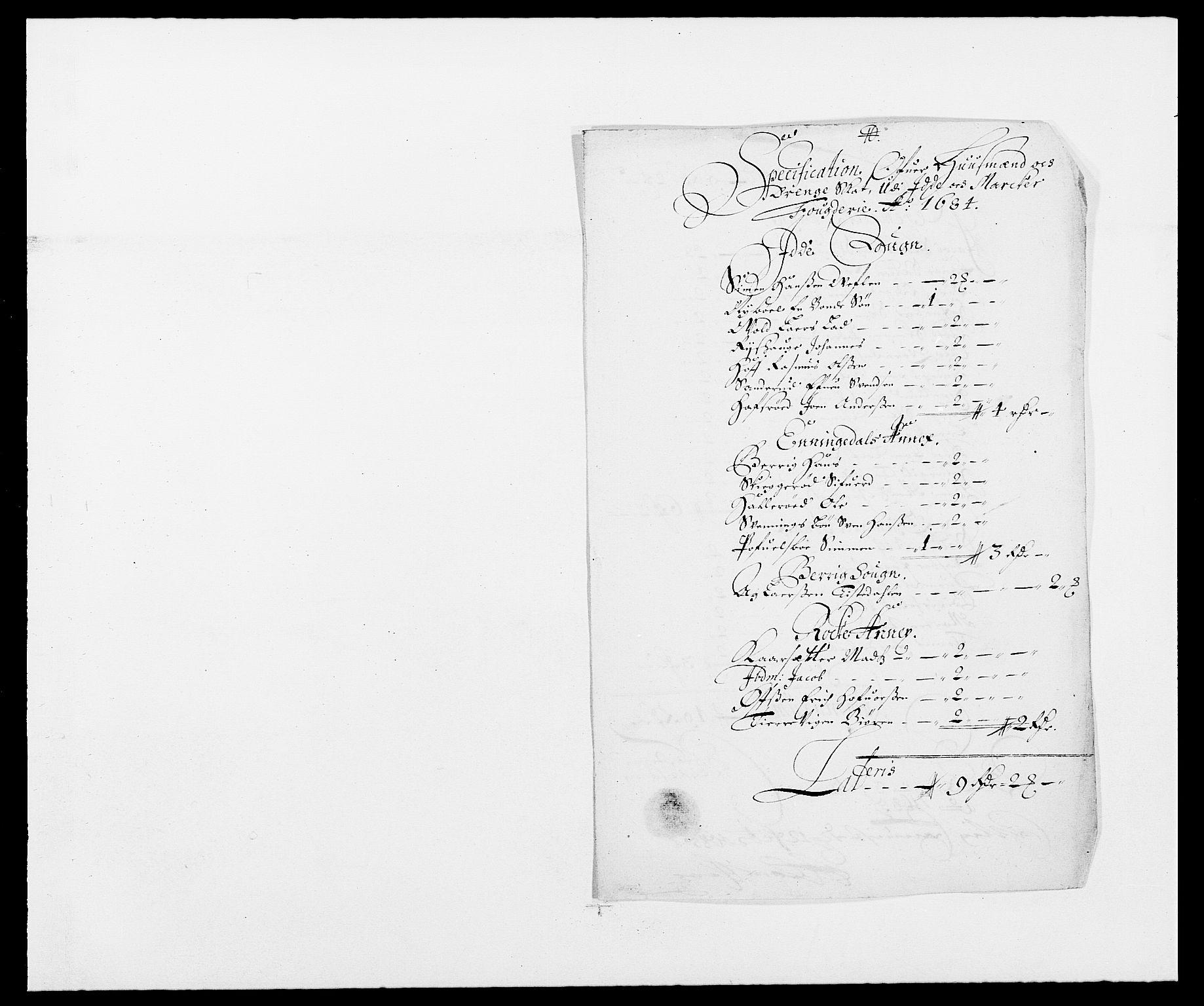 RA, Rentekammeret inntil 1814, Reviderte regnskaper, Fogderegnskap, R01/L0005: Fogderegnskap Idd og Marker , 1682-1684, s. 169