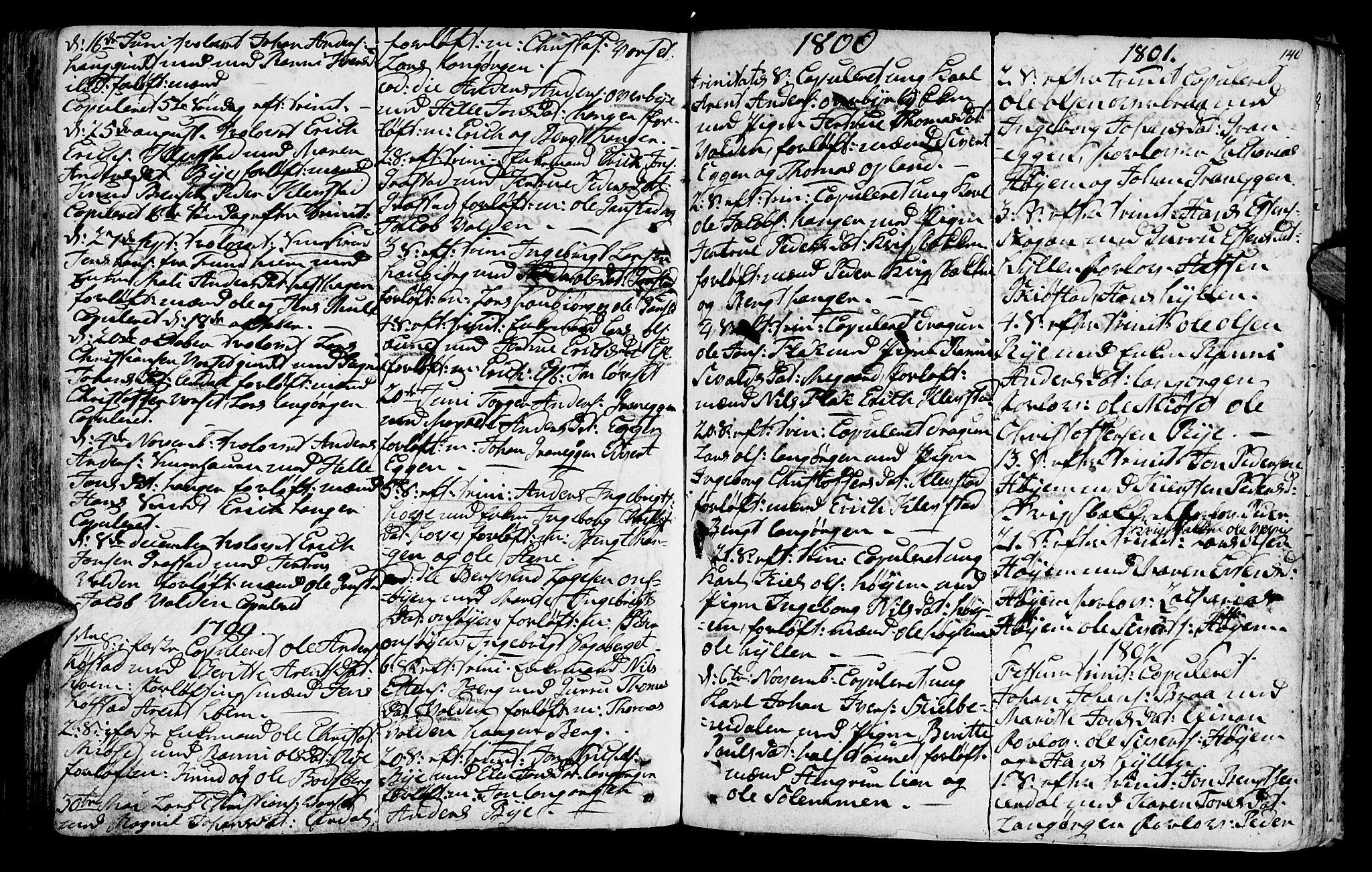 SAT, Ministerialprotokoller, klokkerbøker og fødselsregistre - Sør-Trøndelag, 612/L0370: Ministerialbok nr. 612A04, 1754-1802, s. 140