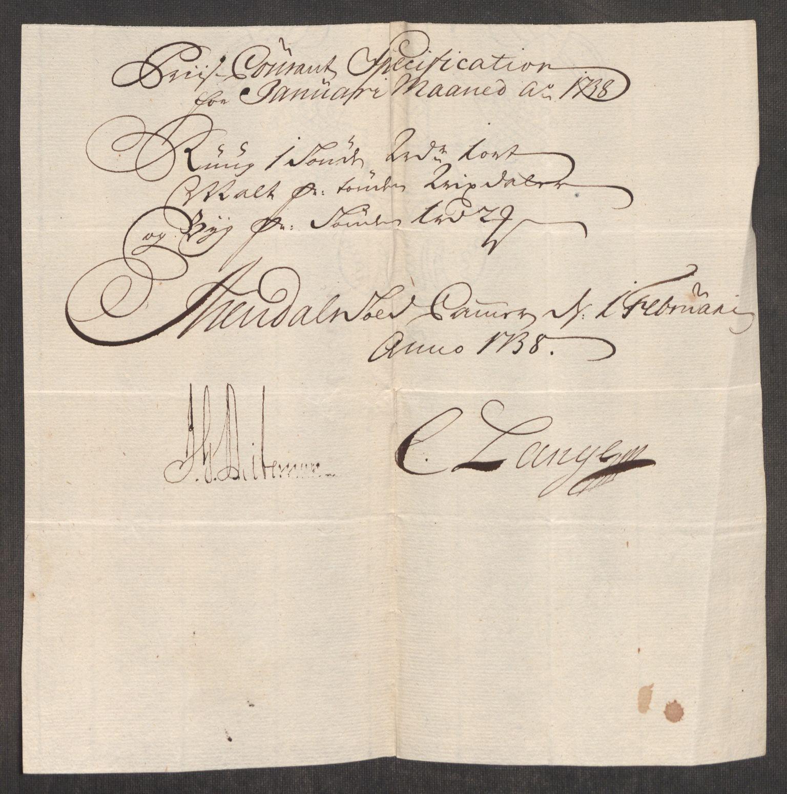 RA, Rentekammeret inntil 1814, Realistisk ordnet avdeling, Oe/L0001: [Ø1]: Priskuranter, 1712-1739, s. 827