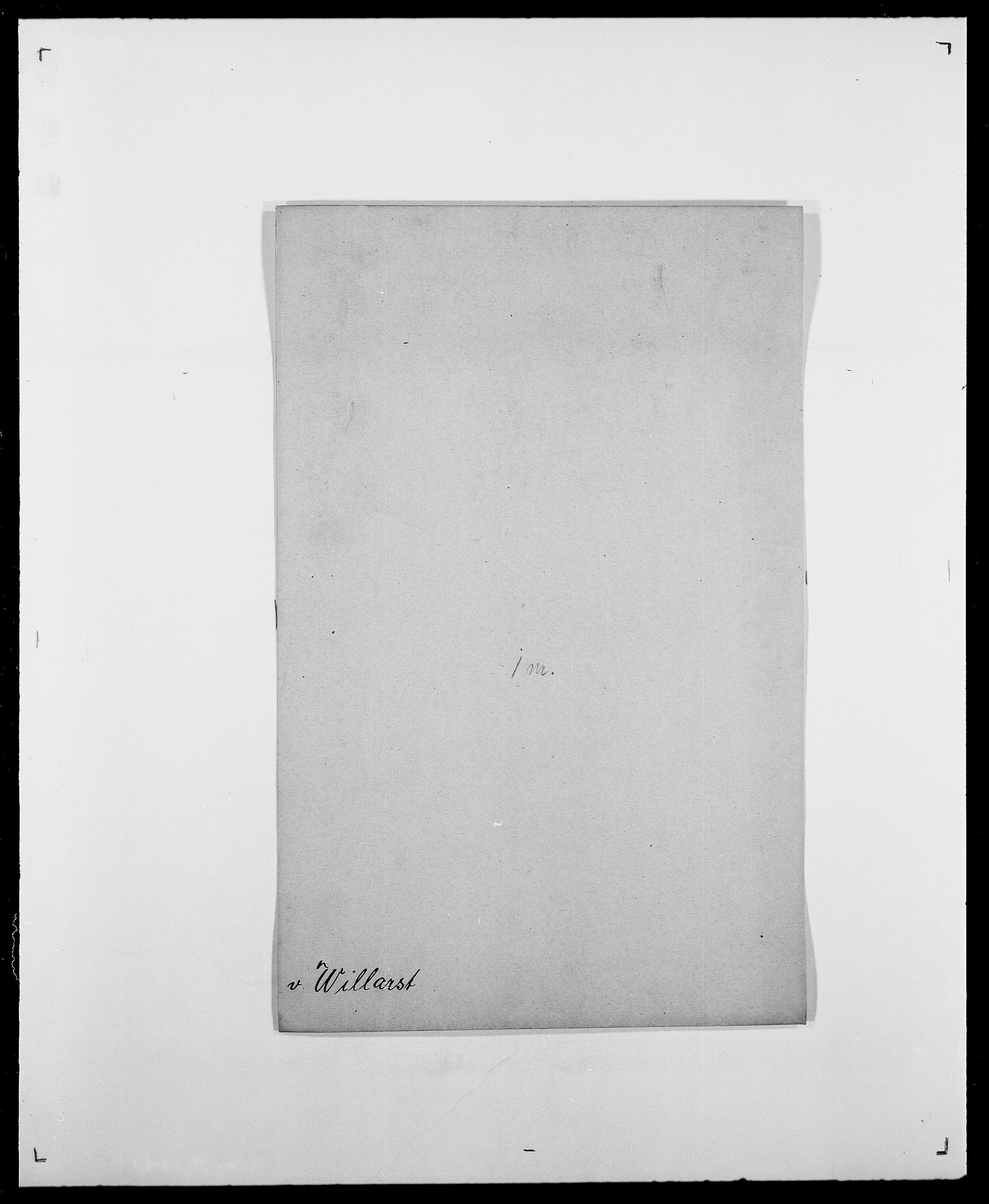 SAO, Delgobe, Charles Antoine - samling, D/Da/L0042: Vilain - Wulf, Wulff, se også Wolf, s. 61