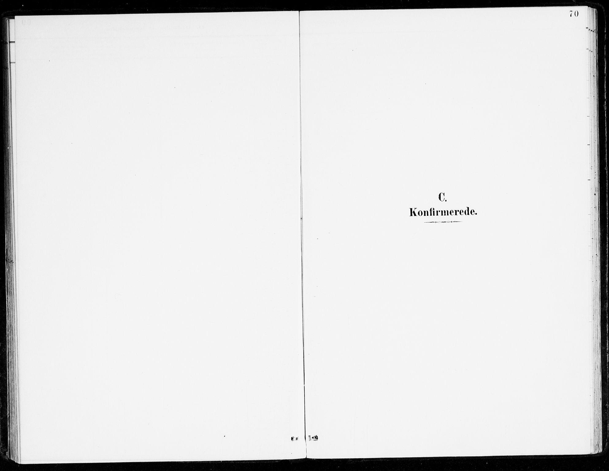 SAB, Leikanger Sokneprestembete, Ministerialbok nr. B 1, 1887-1922, s. 70