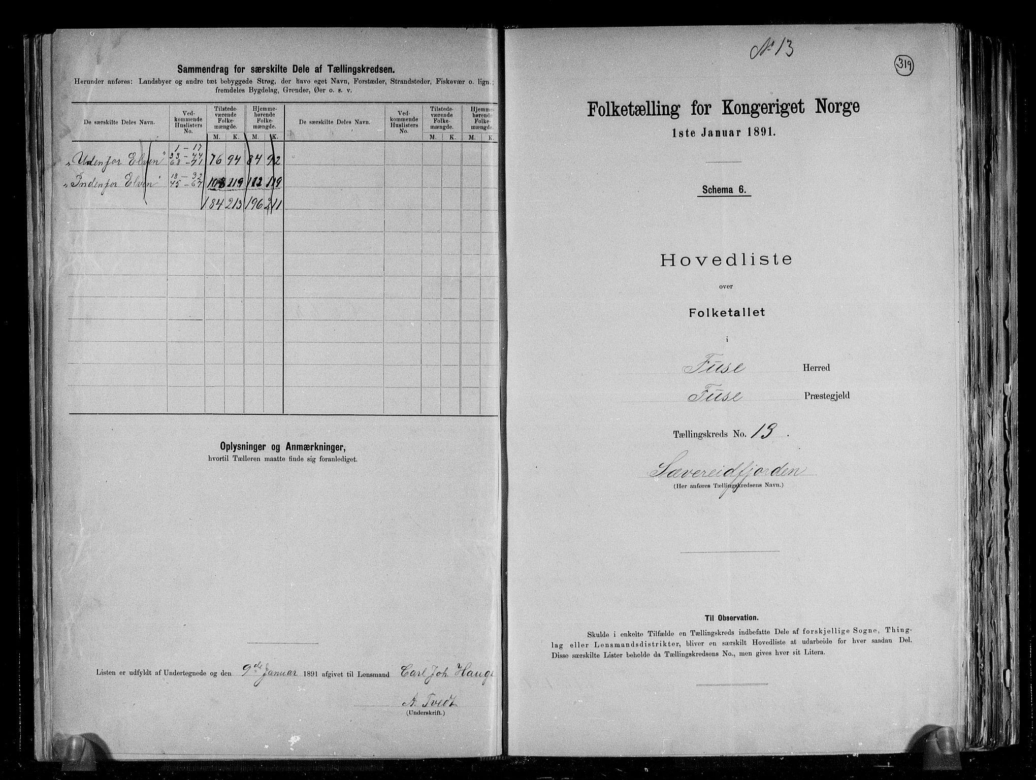 RA, Folketelling 1891 for 1241 Fusa herred, 1891, s. 28
