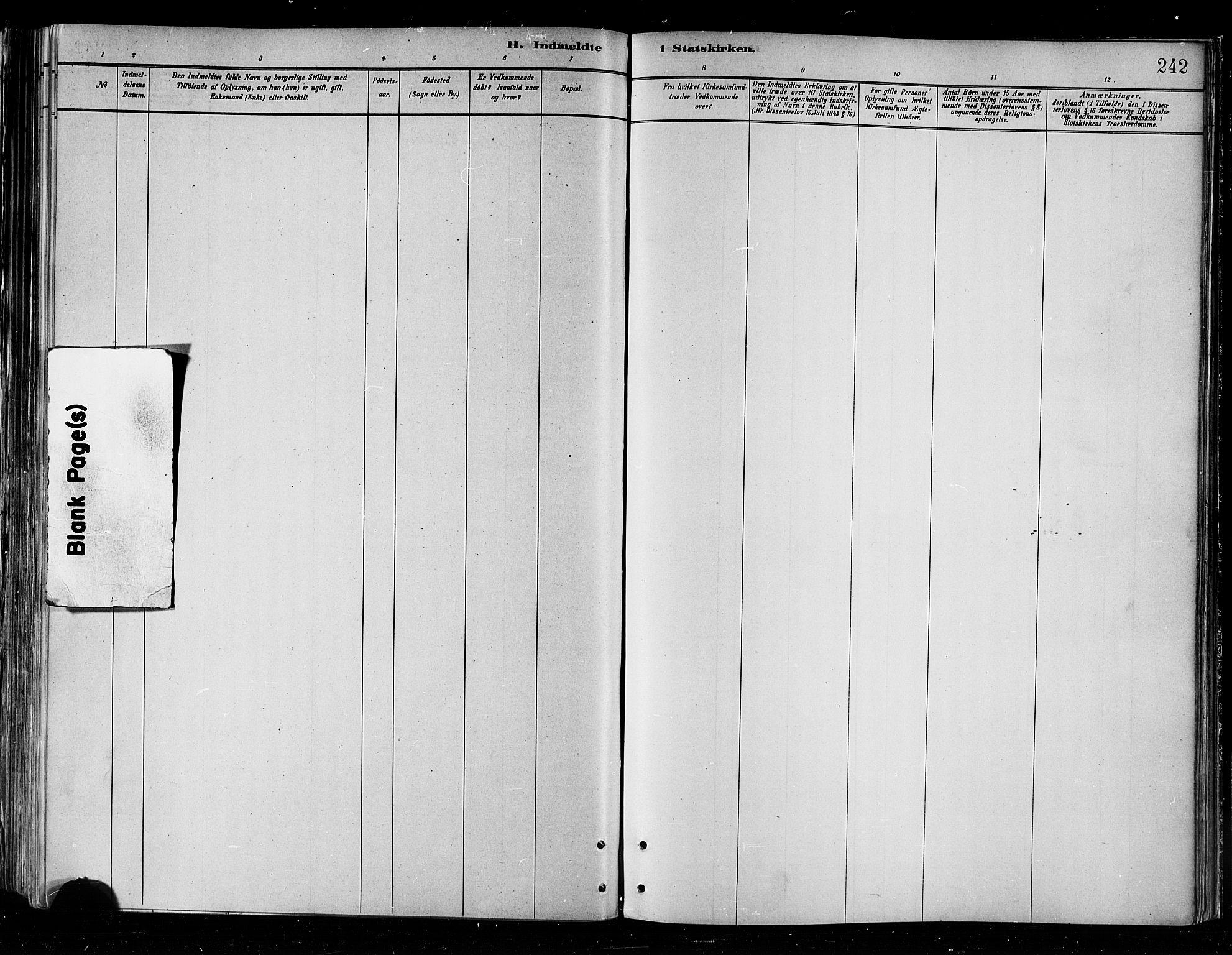 SATØ, Skjervøy sokneprestkontor, H/Ha/Haa/L0010kirke: Ministerialbok nr. 10, 1887-1898, s. 242