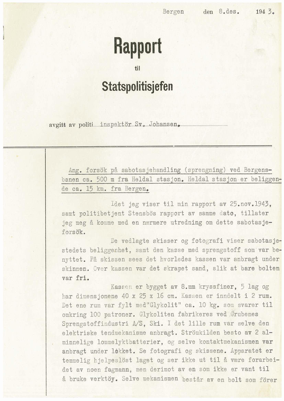 RA, Statspolitiet - Hovedkontoret / Osloavdelingen, D/Dc/Dca/L0076: SPA journalsaker jnr. 3090-3162, 1943-1945, s. 2