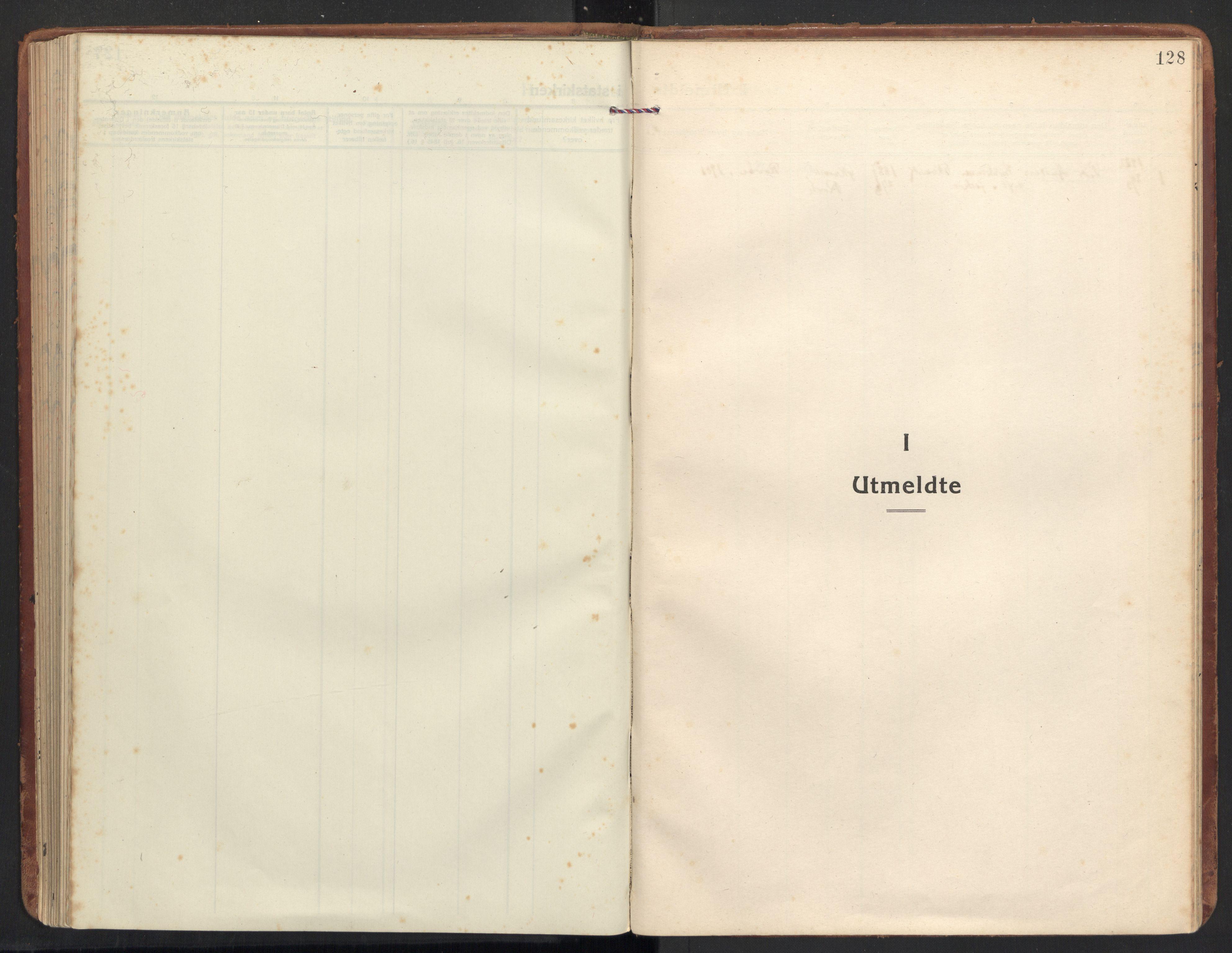 SAT, Ministerialprotokoller, klokkerbøker og fødselsregistre - Møre og Romsdal, 504/L0058: Ministerialbok nr. 504A05, 1920-1940, s. 128