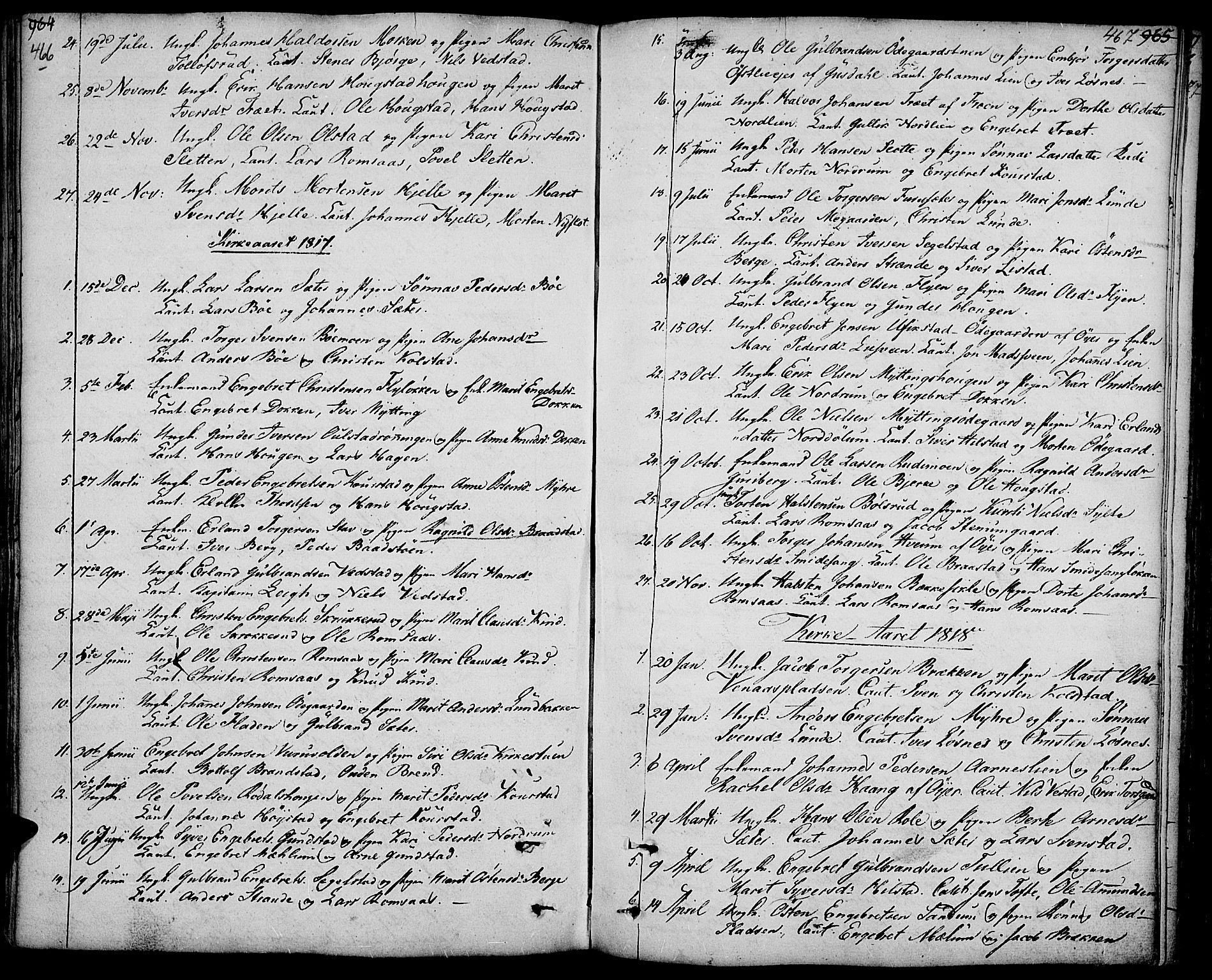 SAH, Ringebu prestekontor, Ministerialbok nr. 3, 1781-1820, s. 466-467