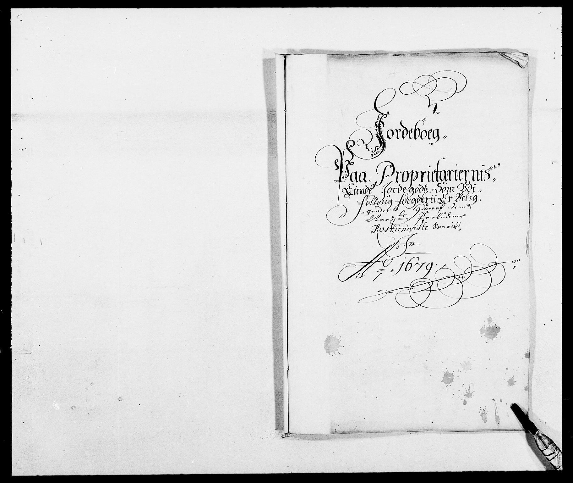 RA, Rentekammeret inntil 1814, Reviderte regnskaper, Fogderegnskap, R09/L0428: Fogderegnskap Follo, 1679, s. 115