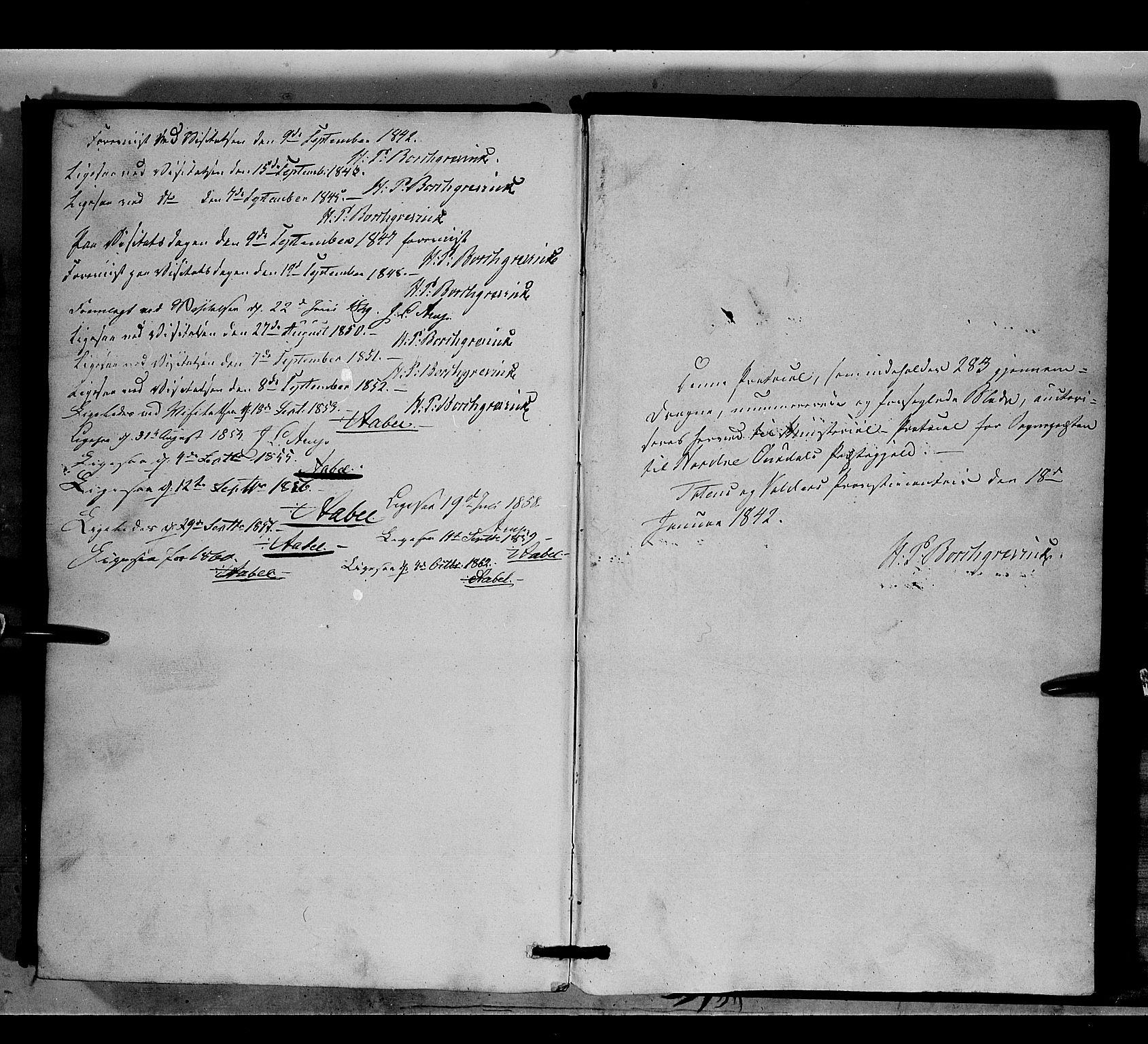 SAH, Nord-Aurdal prestekontor, Ministerialbok nr. 6, 1842-1863