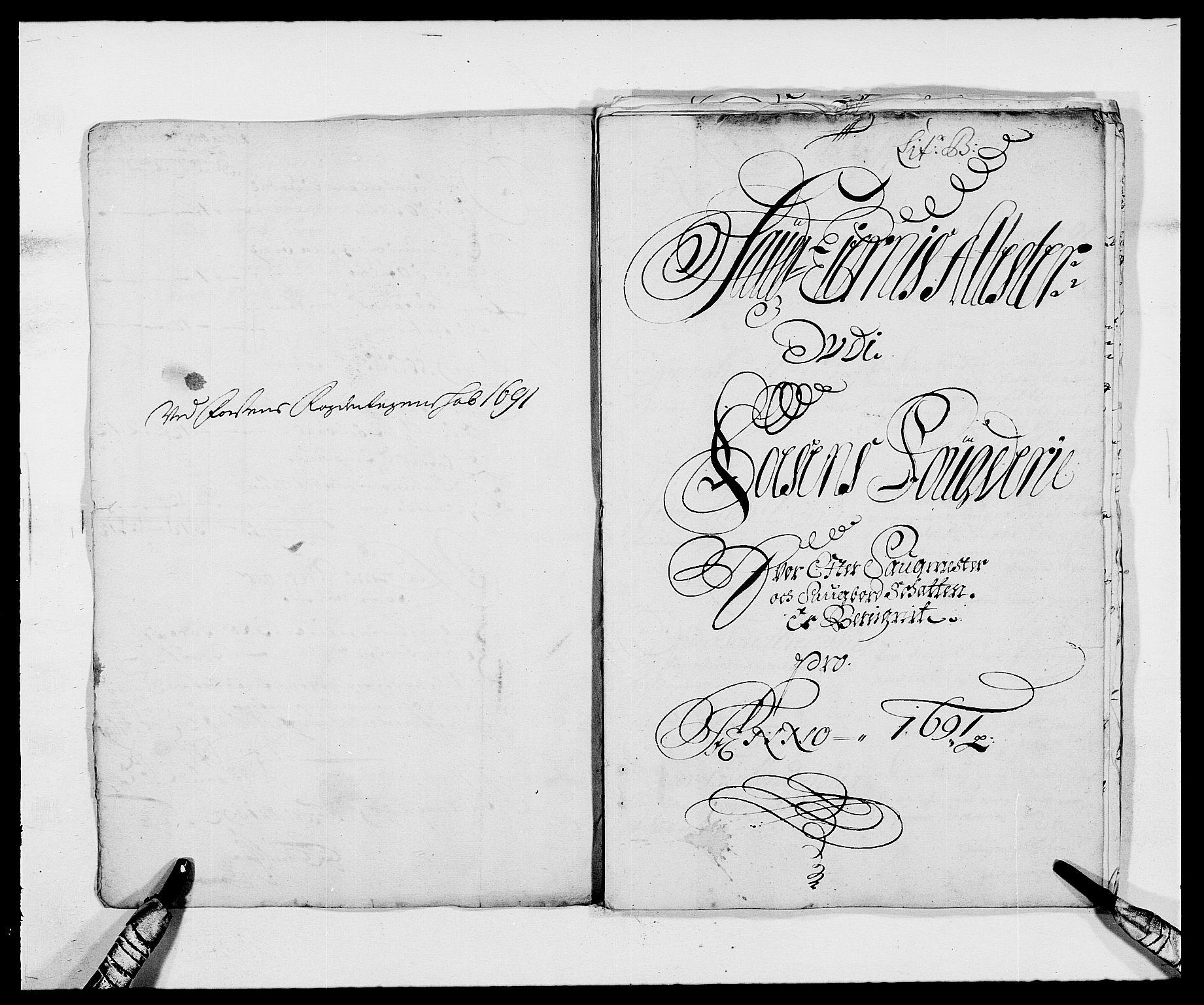 RA, Rentekammeret inntil 1814, Reviderte regnskaper, Fogderegnskap, R57/L3848: Fogderegnskap Fosen, 1690-1691, s. 214