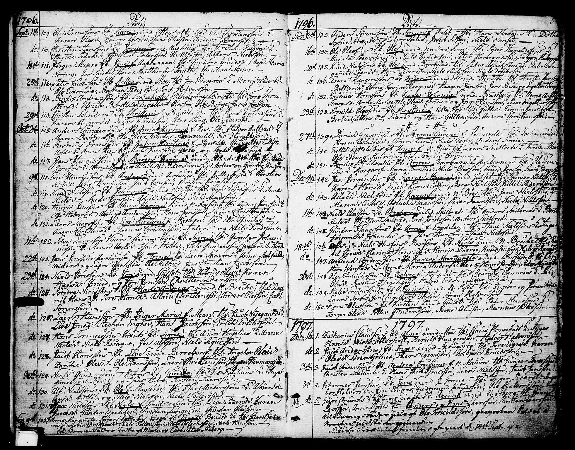SAKO, Gjerpen kirkebøker, F/Fa/L0003: Ministerialbok nr. 3, 1796-1814, s. 5