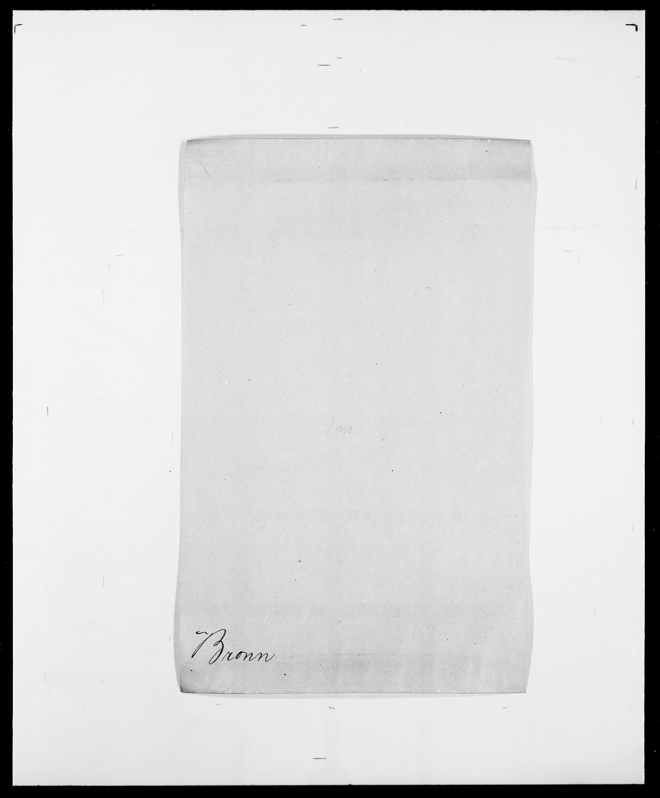 SAO, Delgobe, Charles Antoine - samling, D/Da/L0006: Brambani - Brønø, s. 516