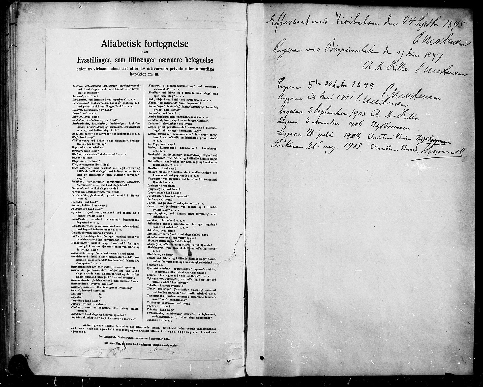 SAH, Sel prestekontor, Klokkerbok nr. 5, 1894-1923