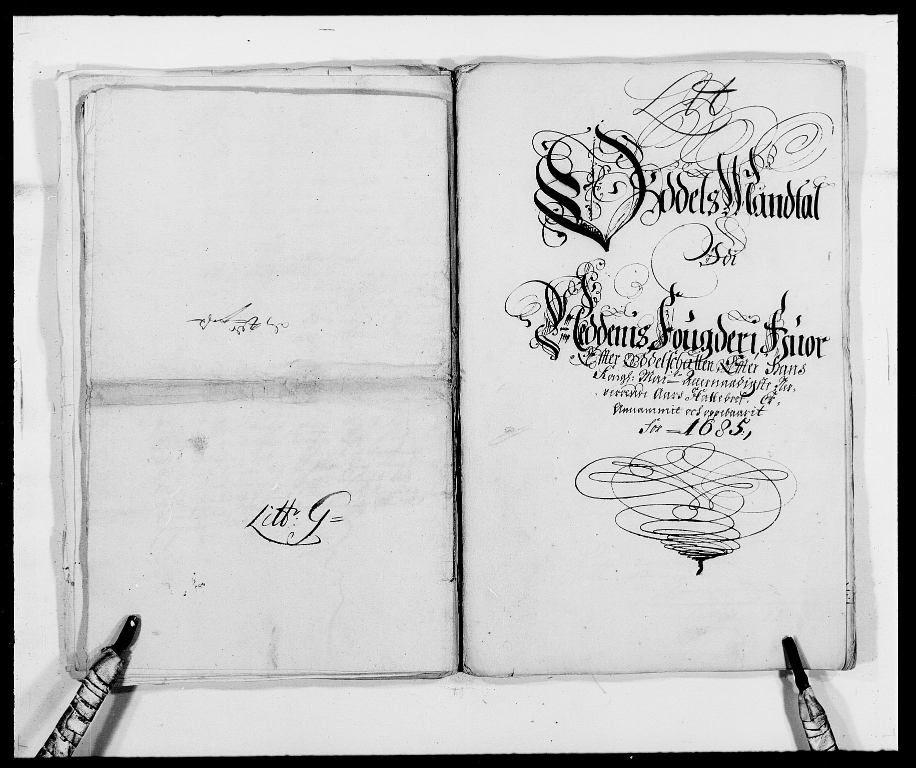 RA, Rentekammeret inntil 1814, Reviderte regnskaper, Fogderegnskap, R39/L2308: Fogderegnskap Nedenes, 1684-1689, s. 241