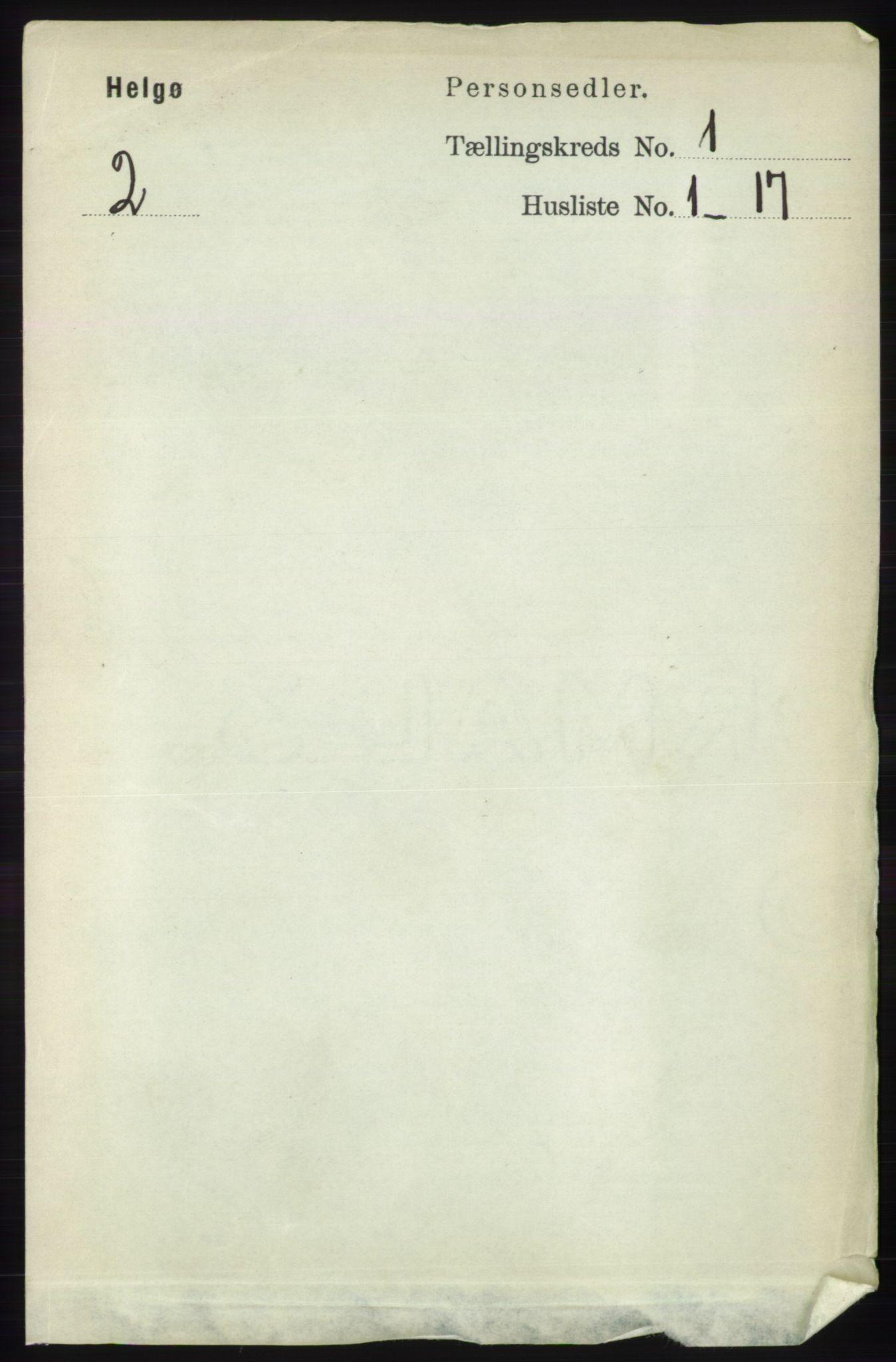 RA, Folketelling 1891 for 1935 Helgøy herred, 1891, s. 47