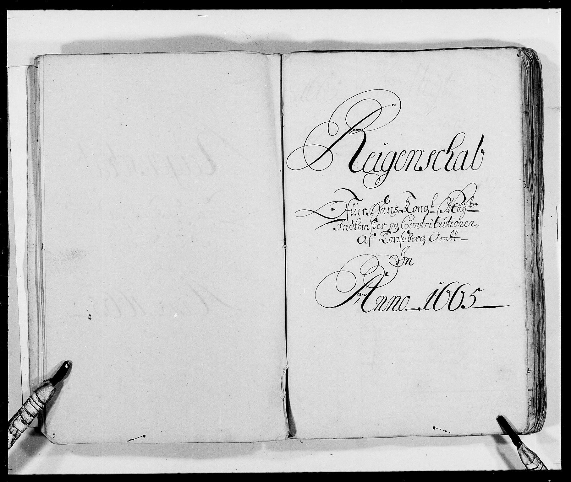 RA, Rentekammeret inntil 1814, Reviderte regnskaper, Fogderegnskap, R32/L1839: Fogderegnskap Jarlsberg grevskap, 1664-1673, s. 20
