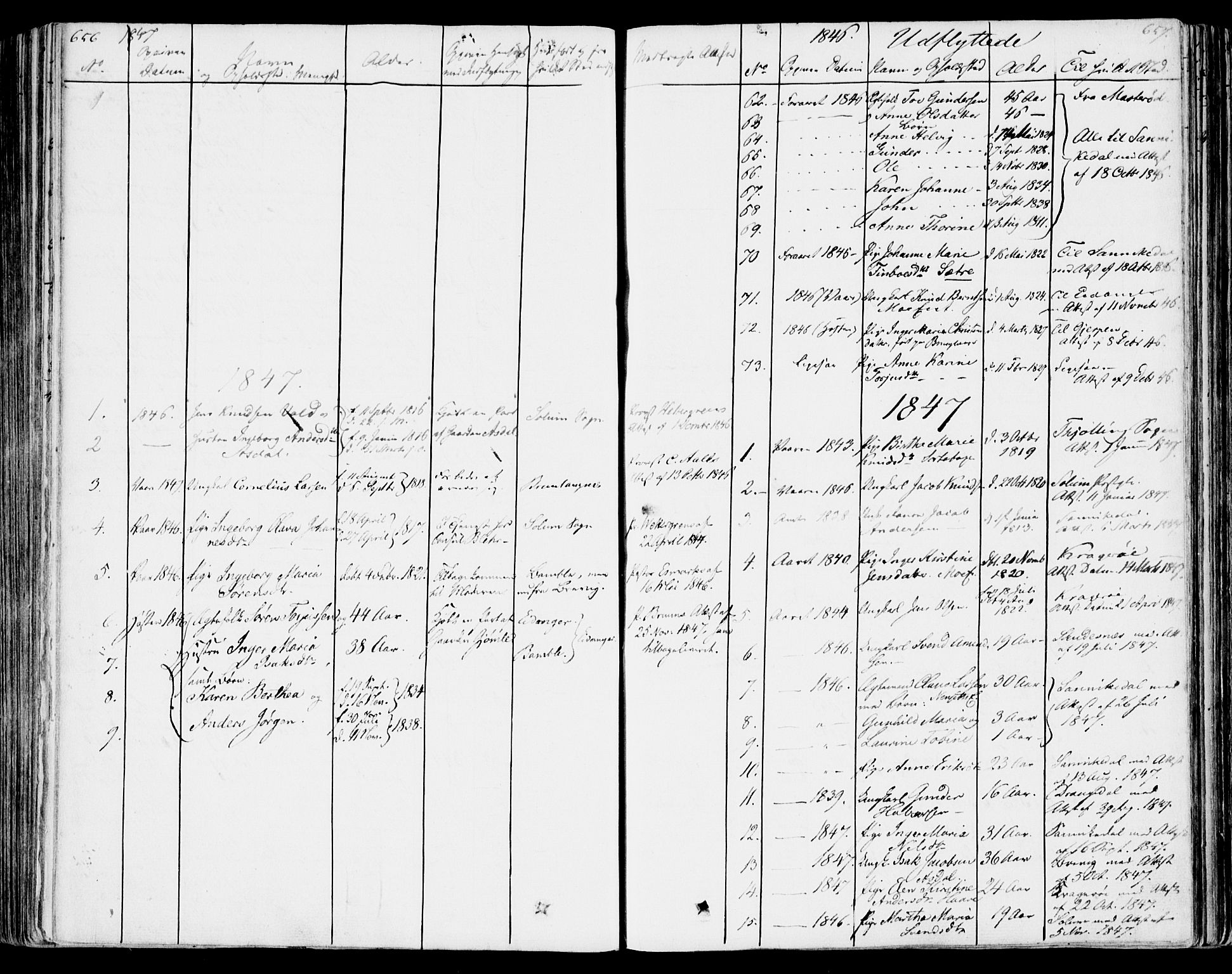SAKO, Bamble kirkebøker, F/Fa/L0004: Ministerialbok nr. I 4, 1834-1853, s. 656-657