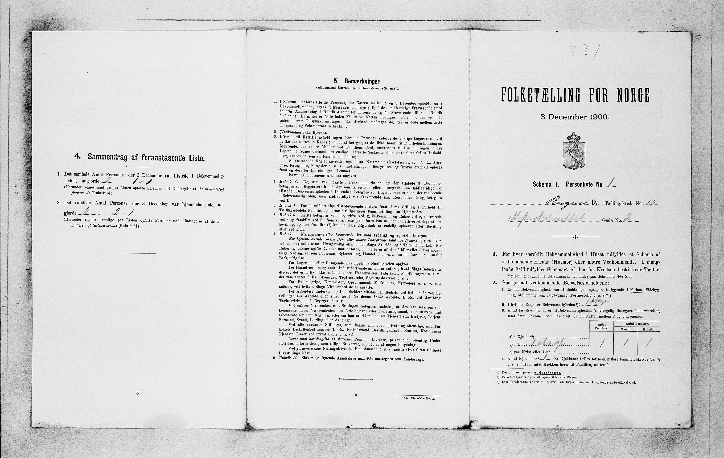 SAB, Folketelling 1900 for 1301 Bergen kjøpstad, 1900, s. 1973