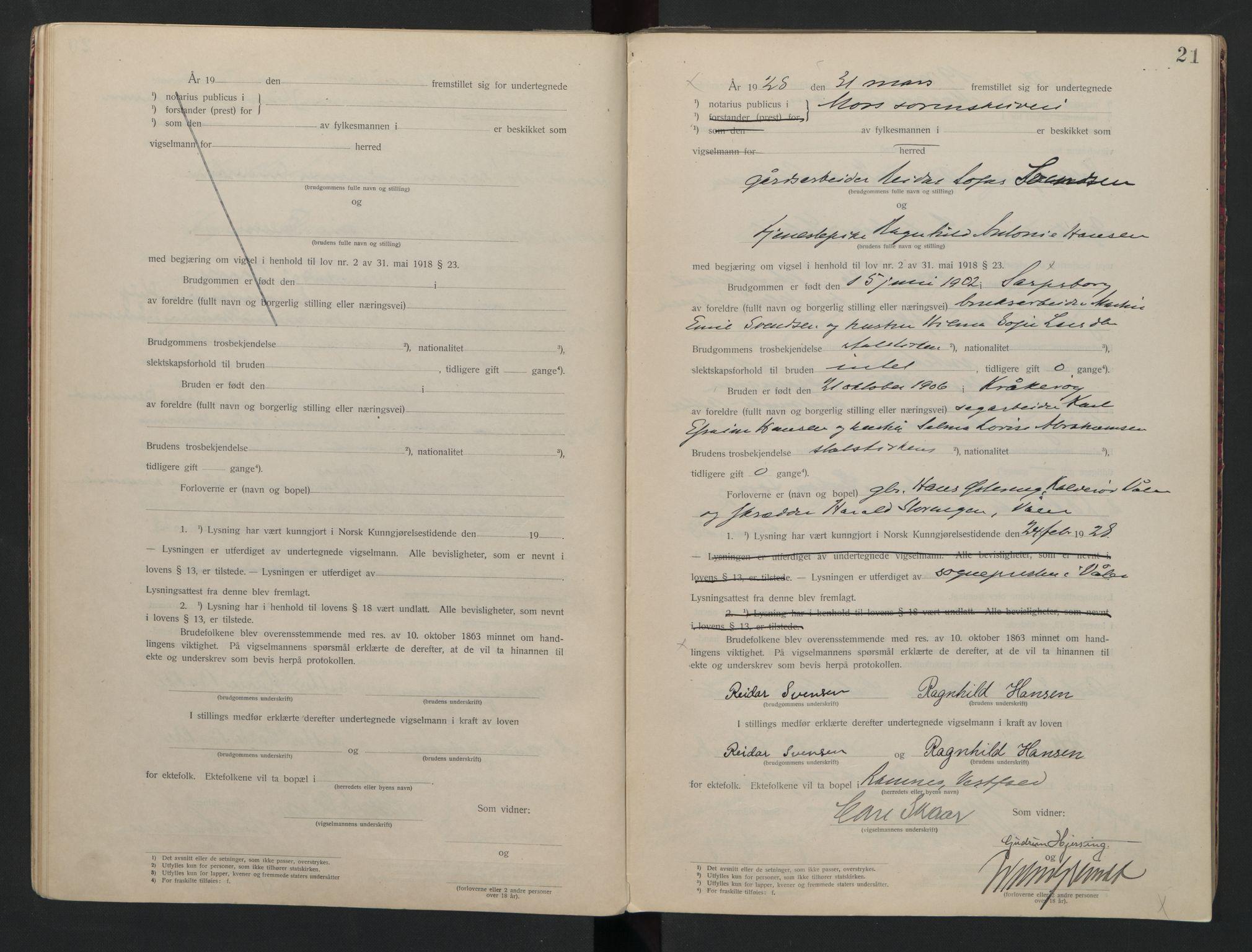 SAO, Moss sorenskriveri, 1921-1937, s. 21