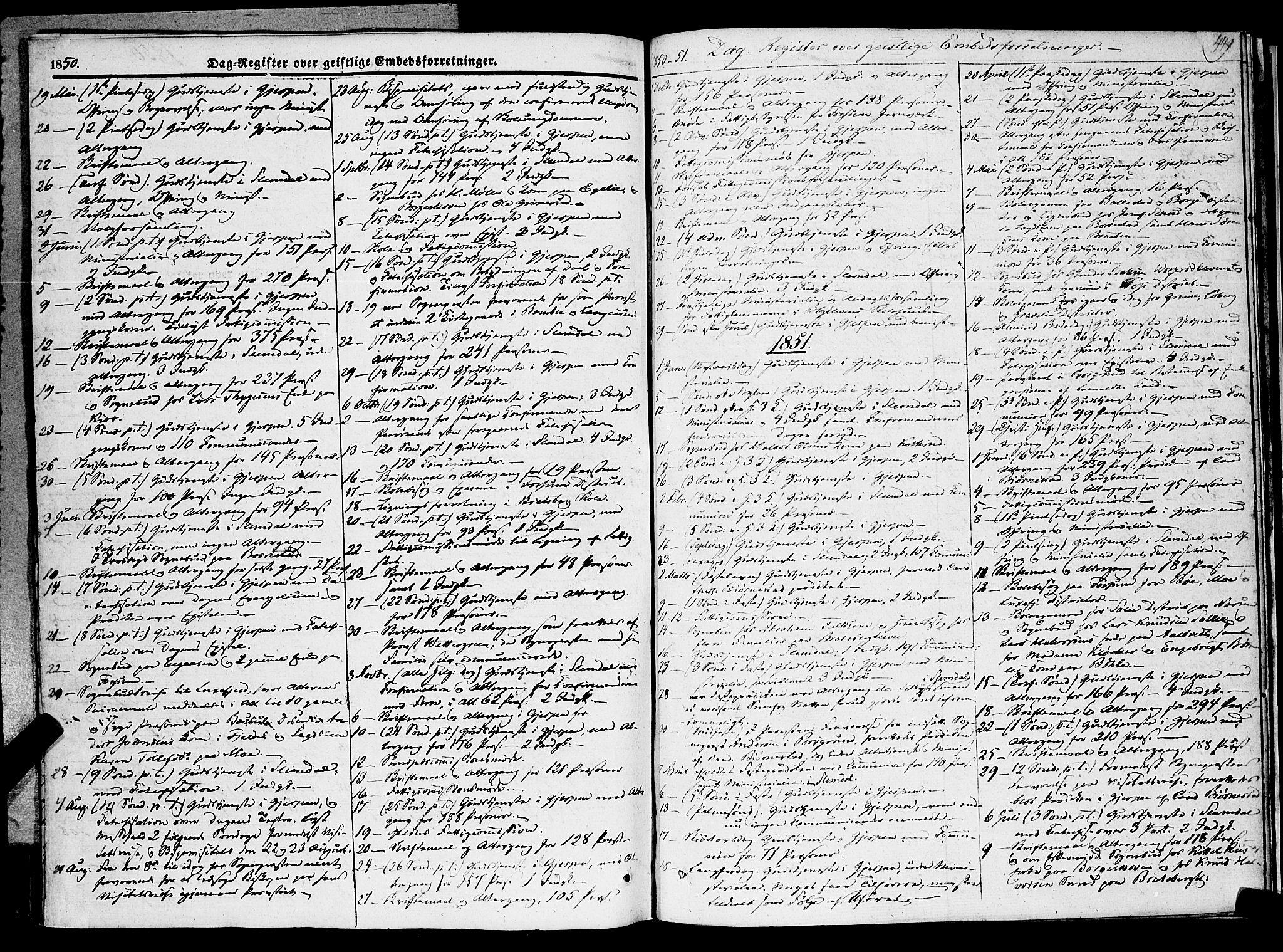 SAKO, Gjerpen kirkebøker, F/Fa/L0007b: Ministerialbok nr. 7B, 1834-1857, s. 449